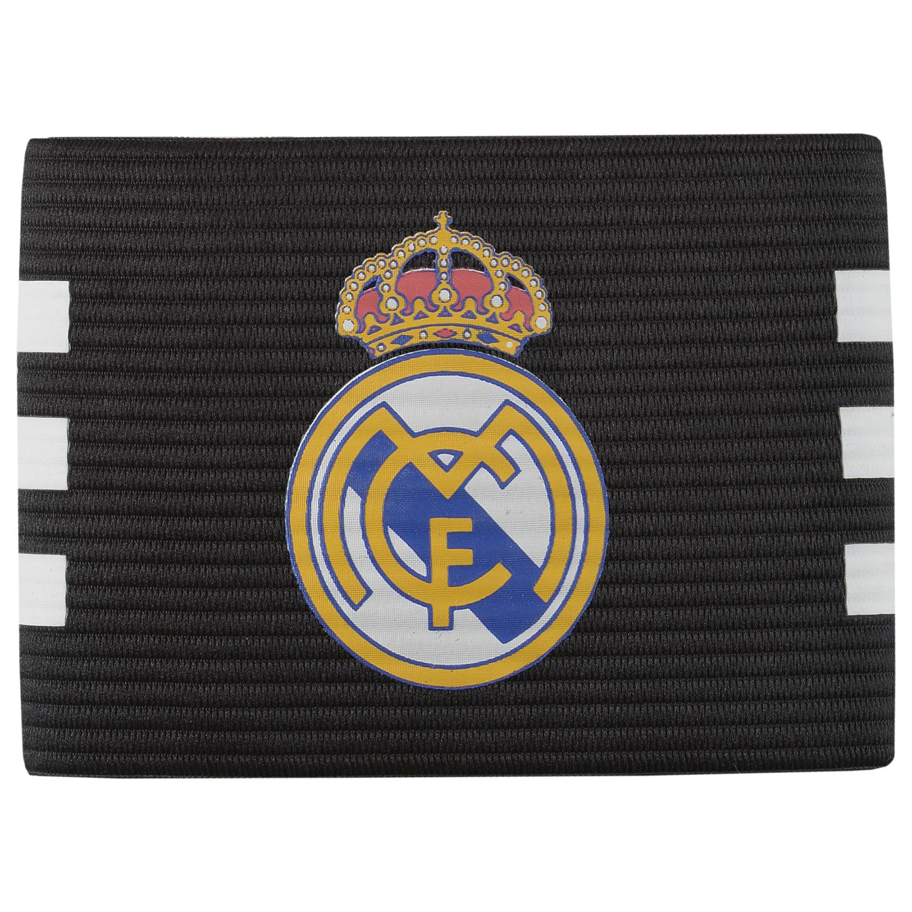 Brazalete de capit�n del Real Madrid - Negro