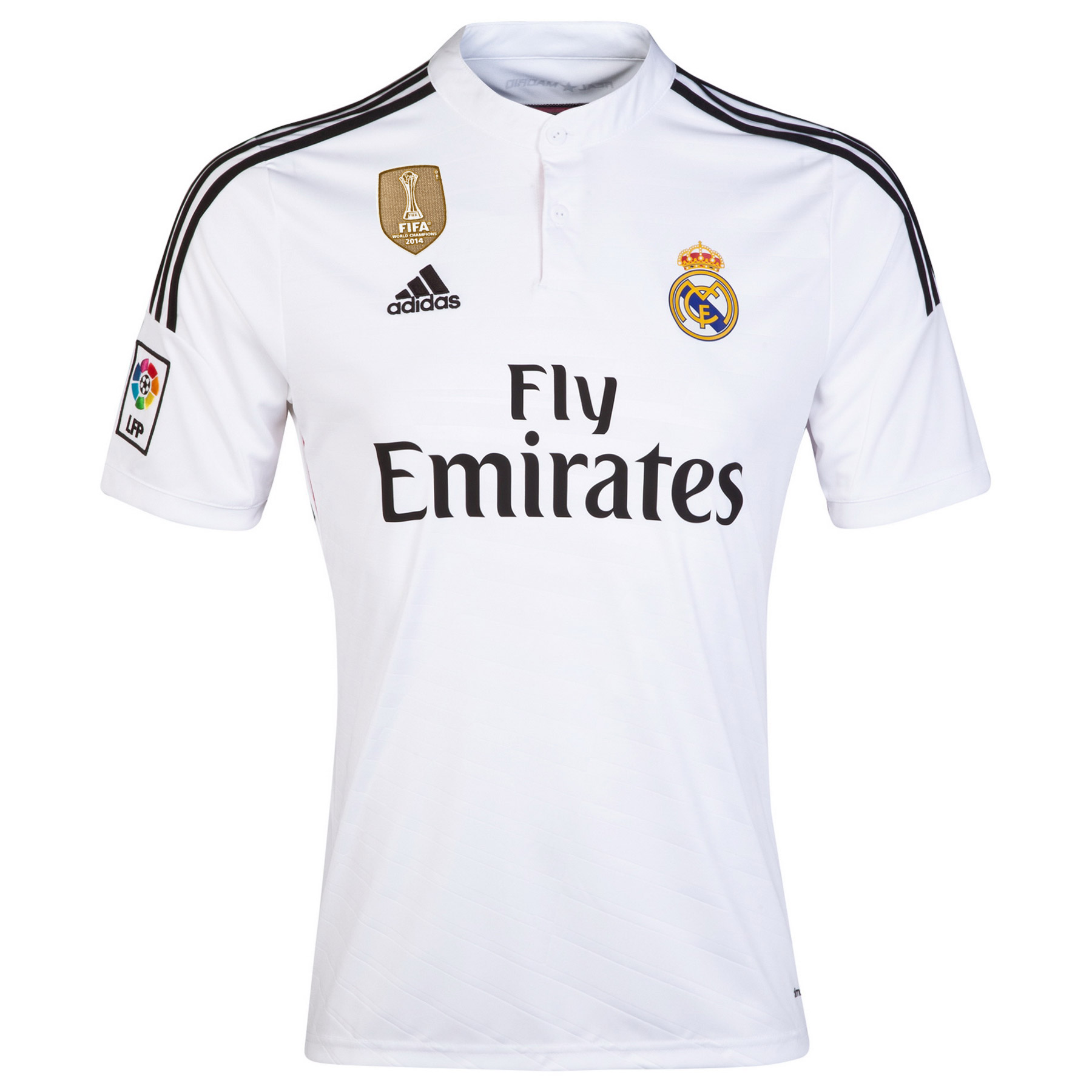 Real Madrid Home FIFA World Champions 2014 Shirt White