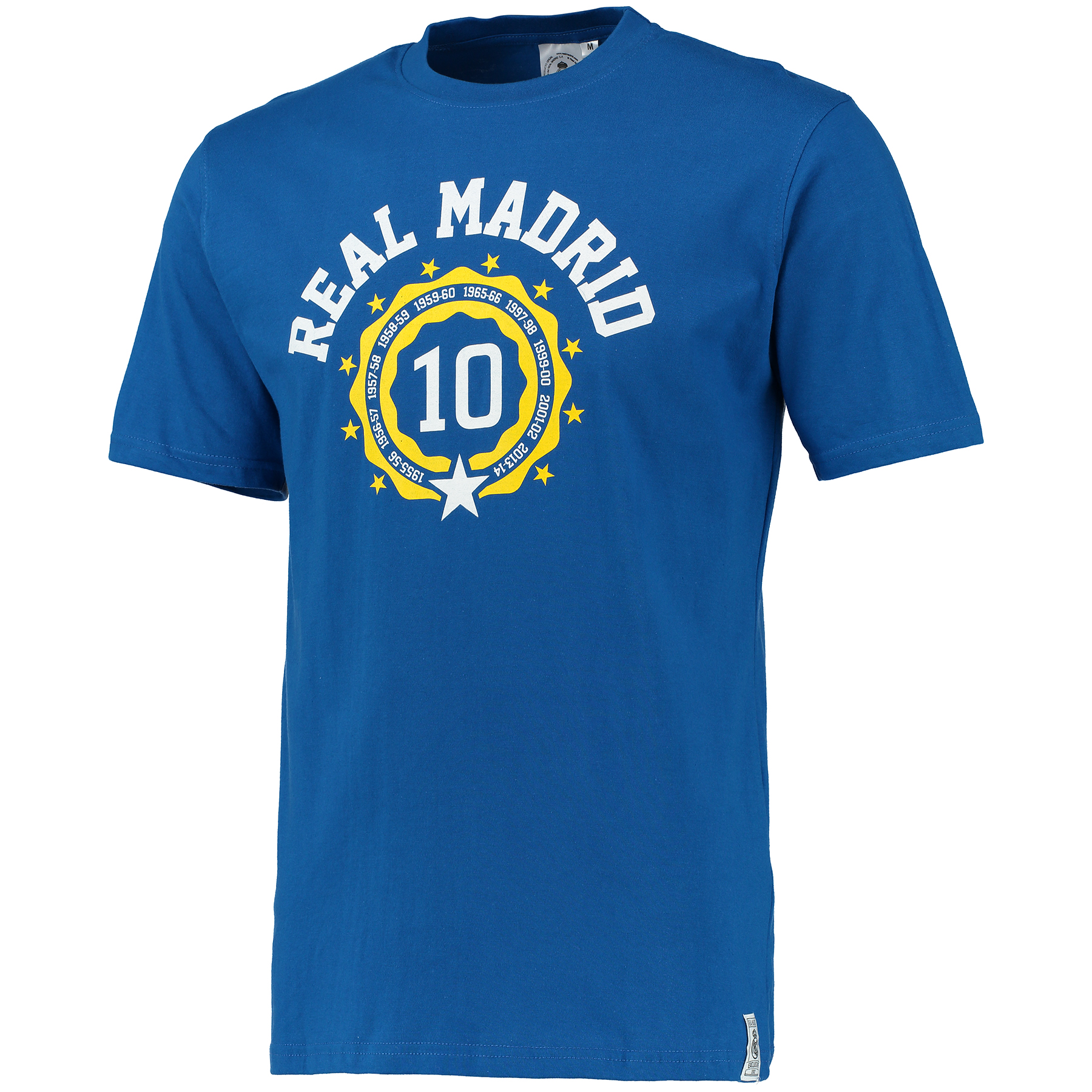 Camiseta Impresi�n Real Madrid- Hombre - Azul