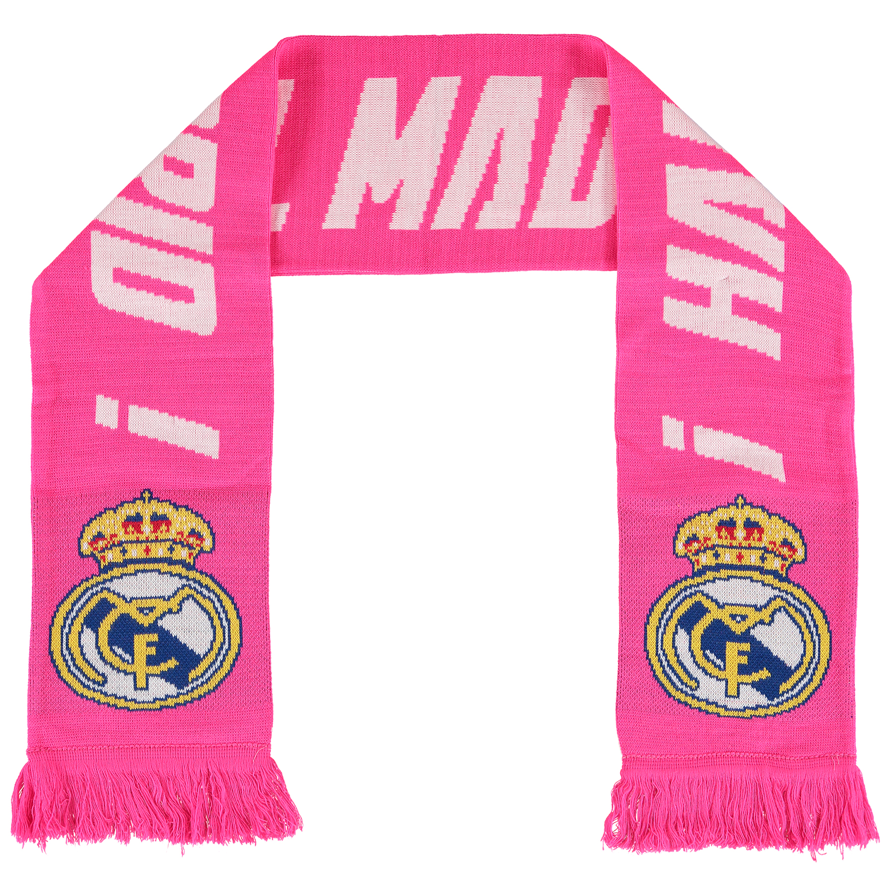 Real Madrid Fan Scarf - Pink - Adult