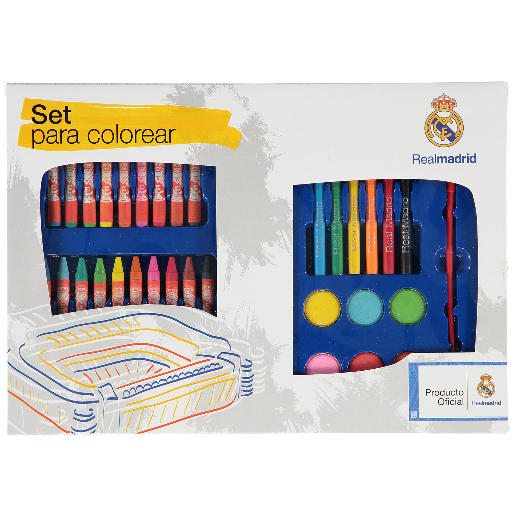 Real Madrid Stationery Set - 45 Pieces