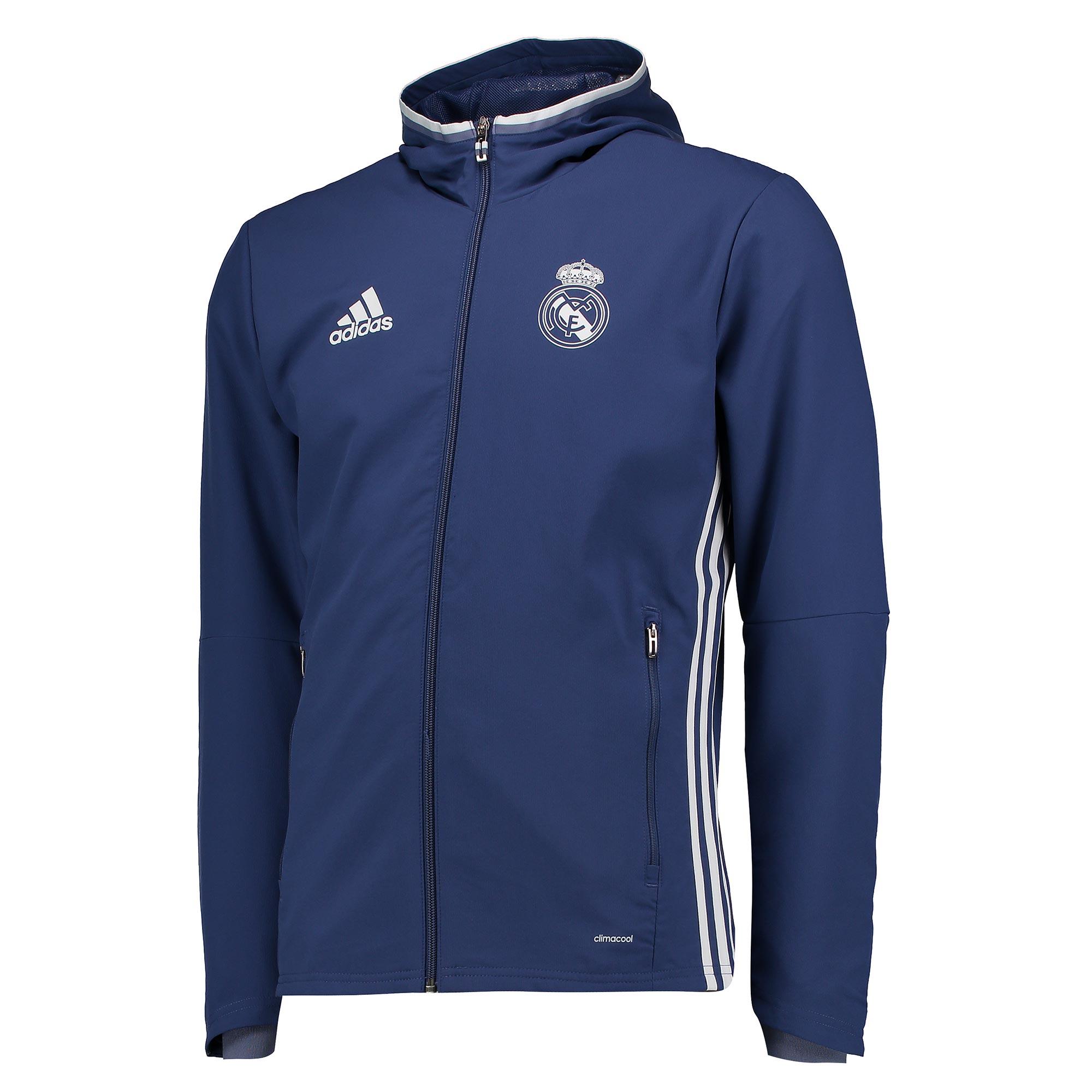 47bd6404 adidas Real Madrid Kids 1902/03 Purple Presentation Training Jacket Image