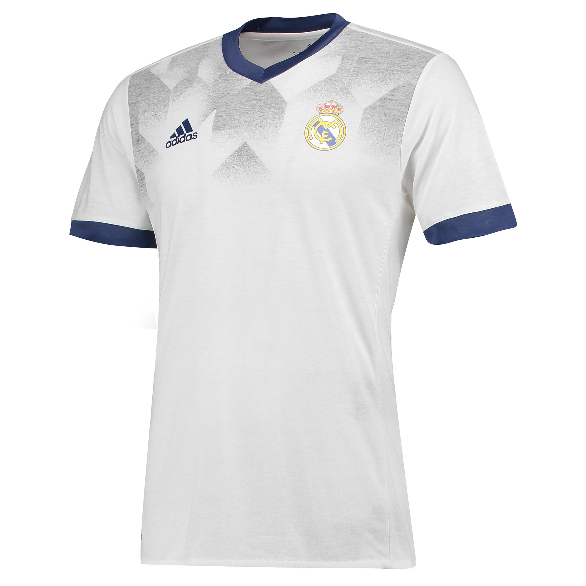Maillot d'avant match Real Madrid - Blanc