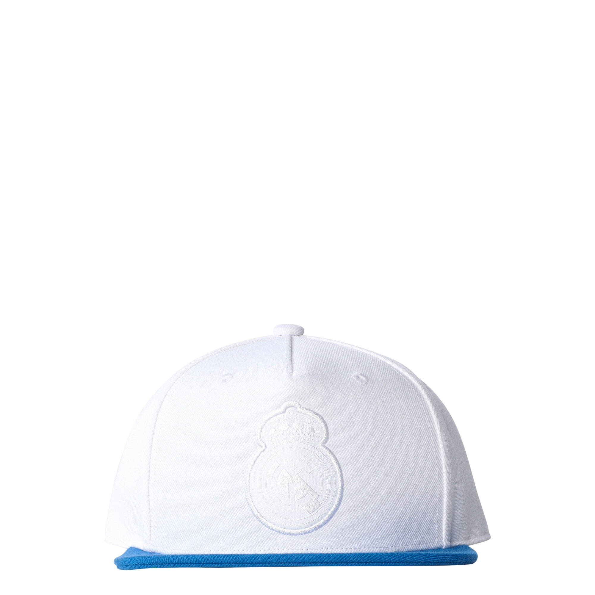 Casquette Real Madrid Flat Peak - Blanc
