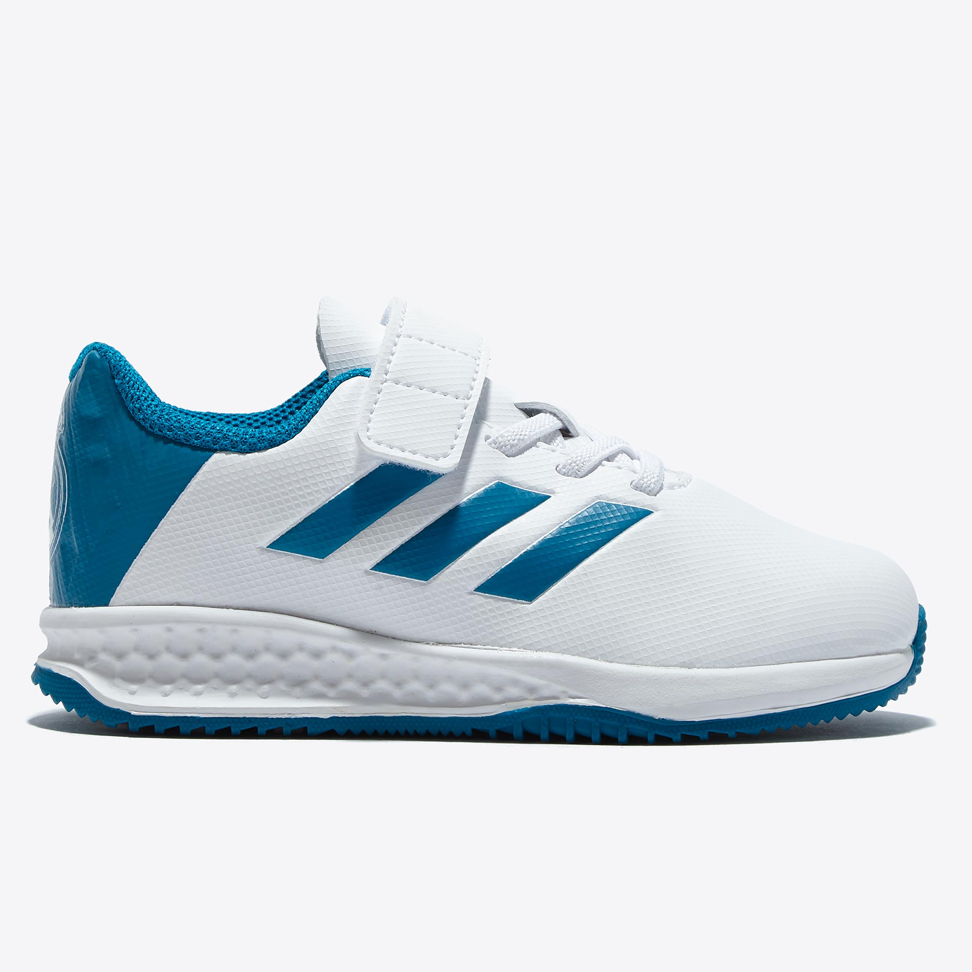 Image of Real Madrid Astro Turf Trainers - White - Infants