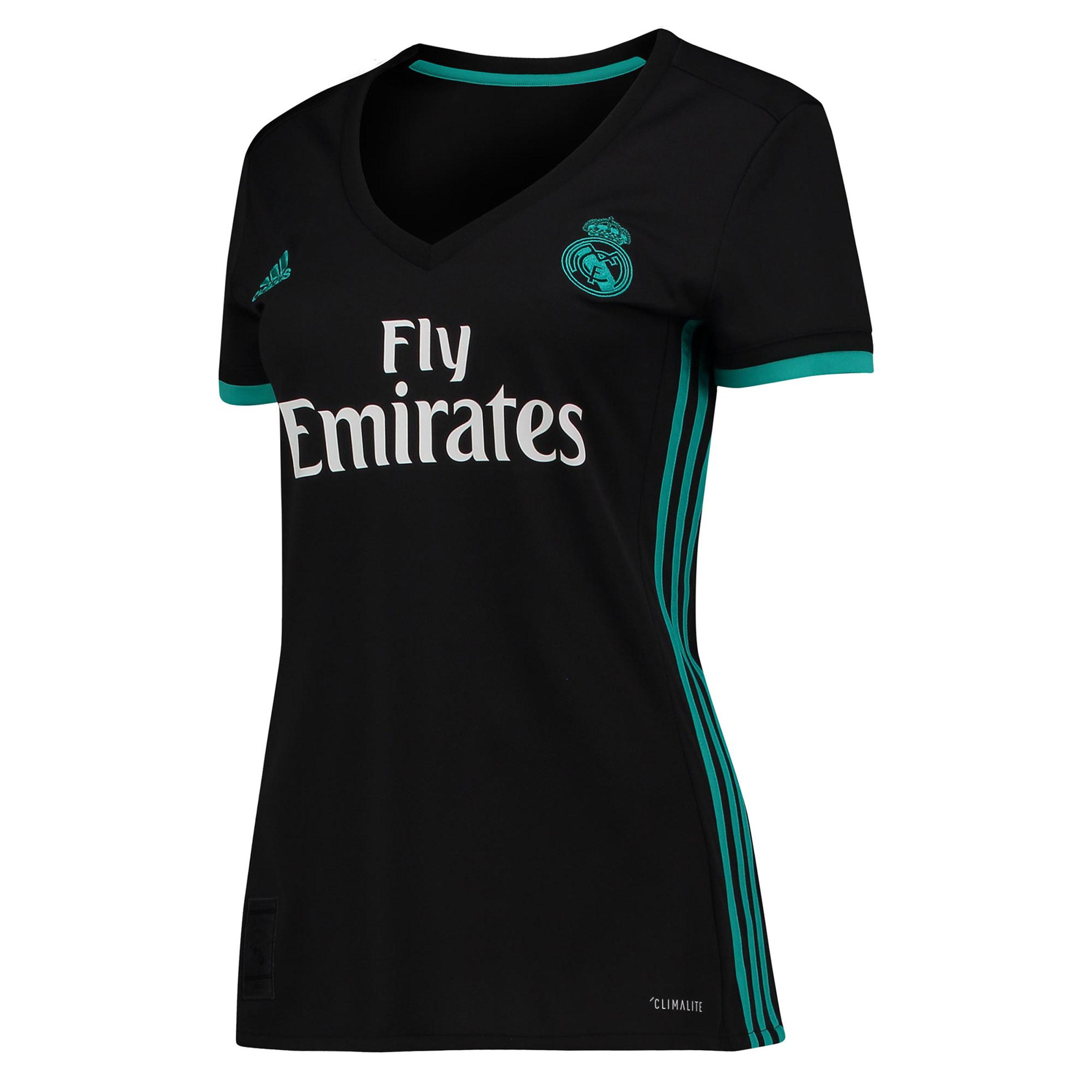Camiseta de la 2ª equipación Real Madrid 2017/18 - Mujer
