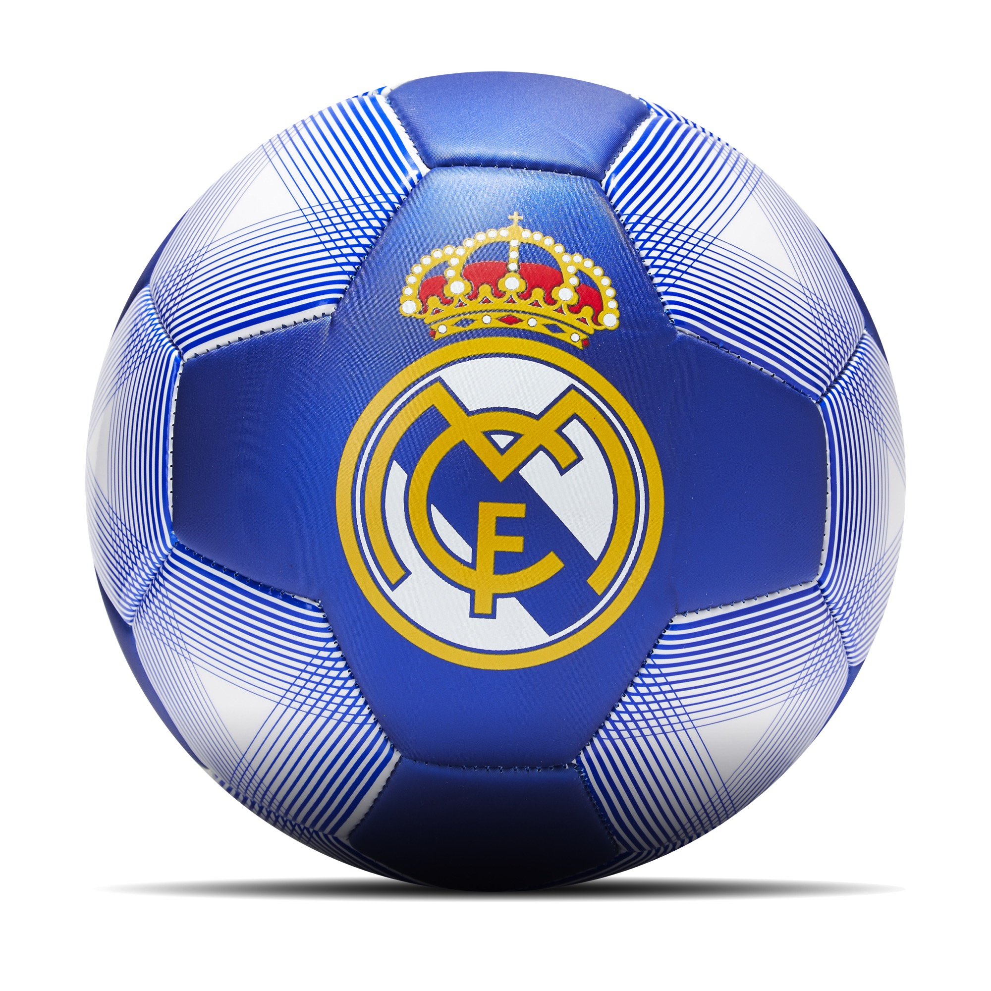 Ballon de football avec écusson du Real Madrid - Taille 2 - Bleu