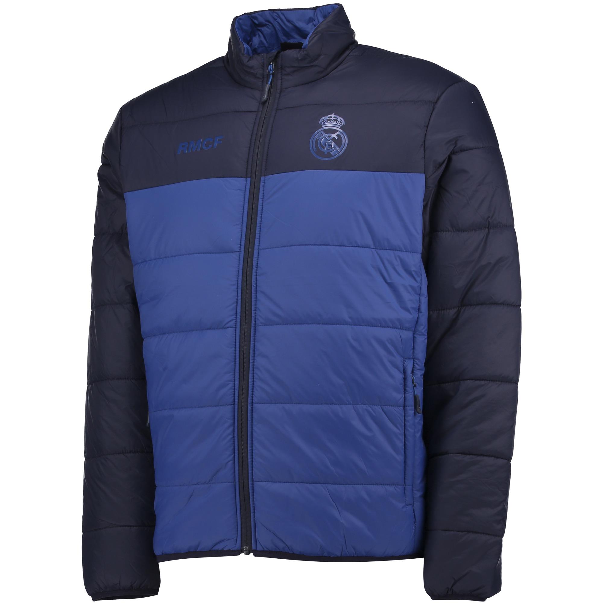 Veste matelassée Real Madrid- Bleu- Homme