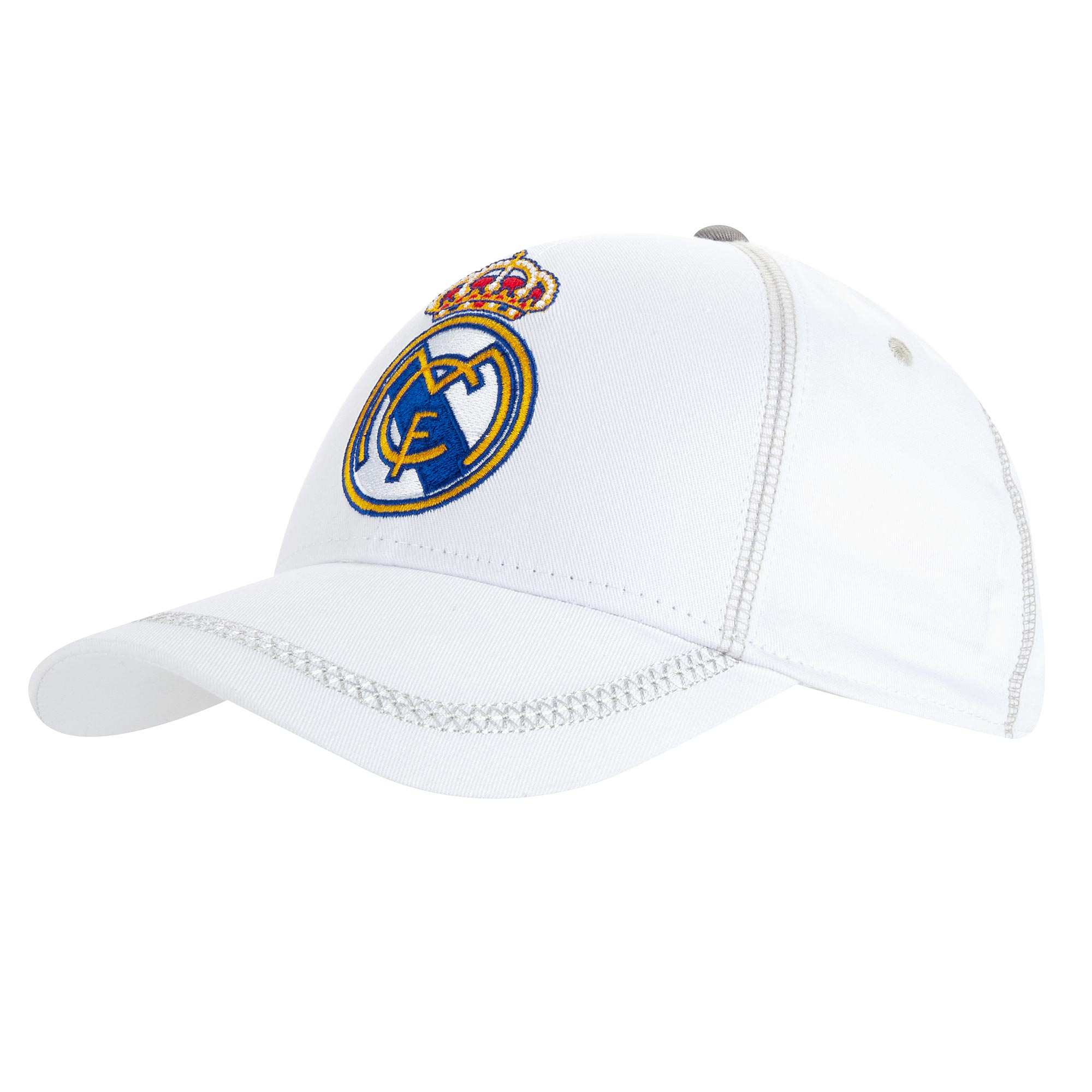 Casquette de fan Real Madrid - Blanc - Adulte