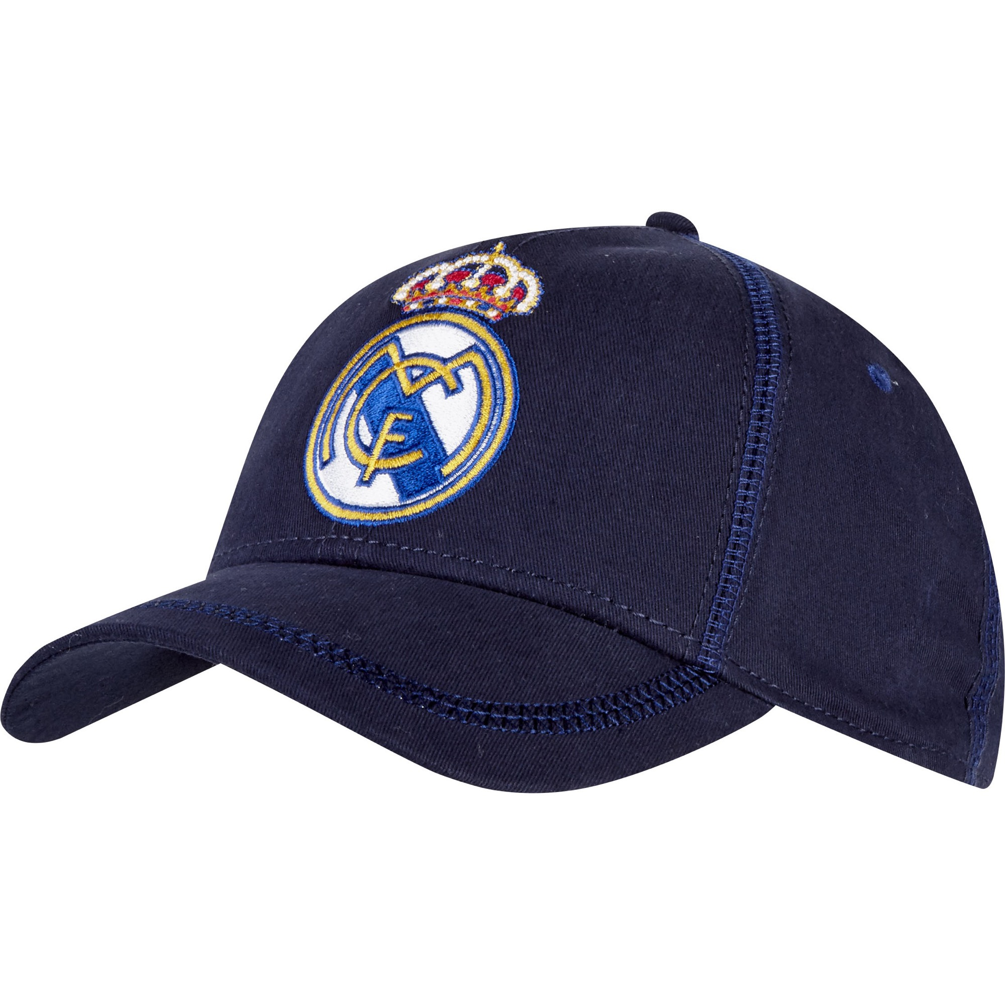 Casquette de fan Real Madrid - Bleu marine - Adulte