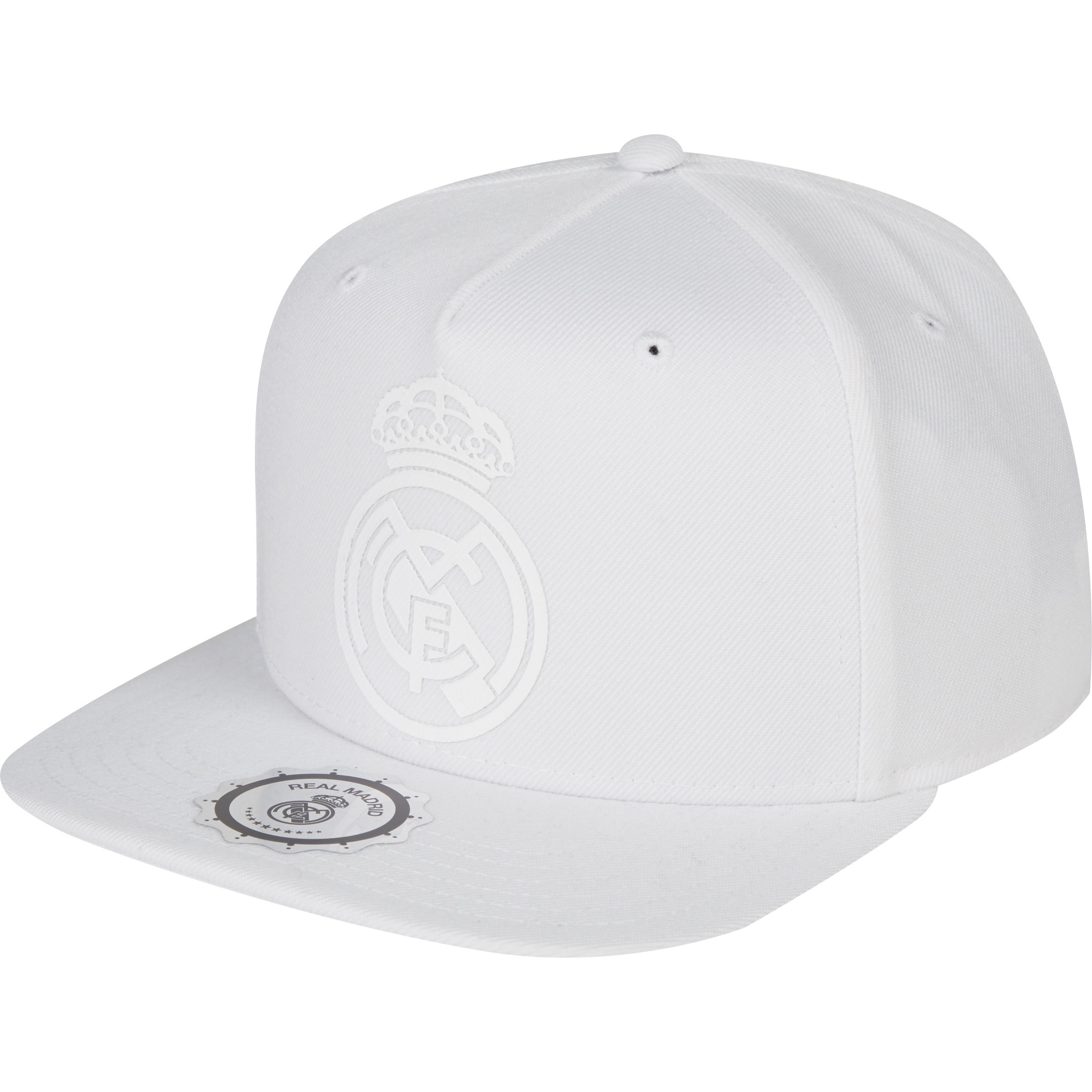 Casquette réglable Real Madrid - Blanc - Adulte