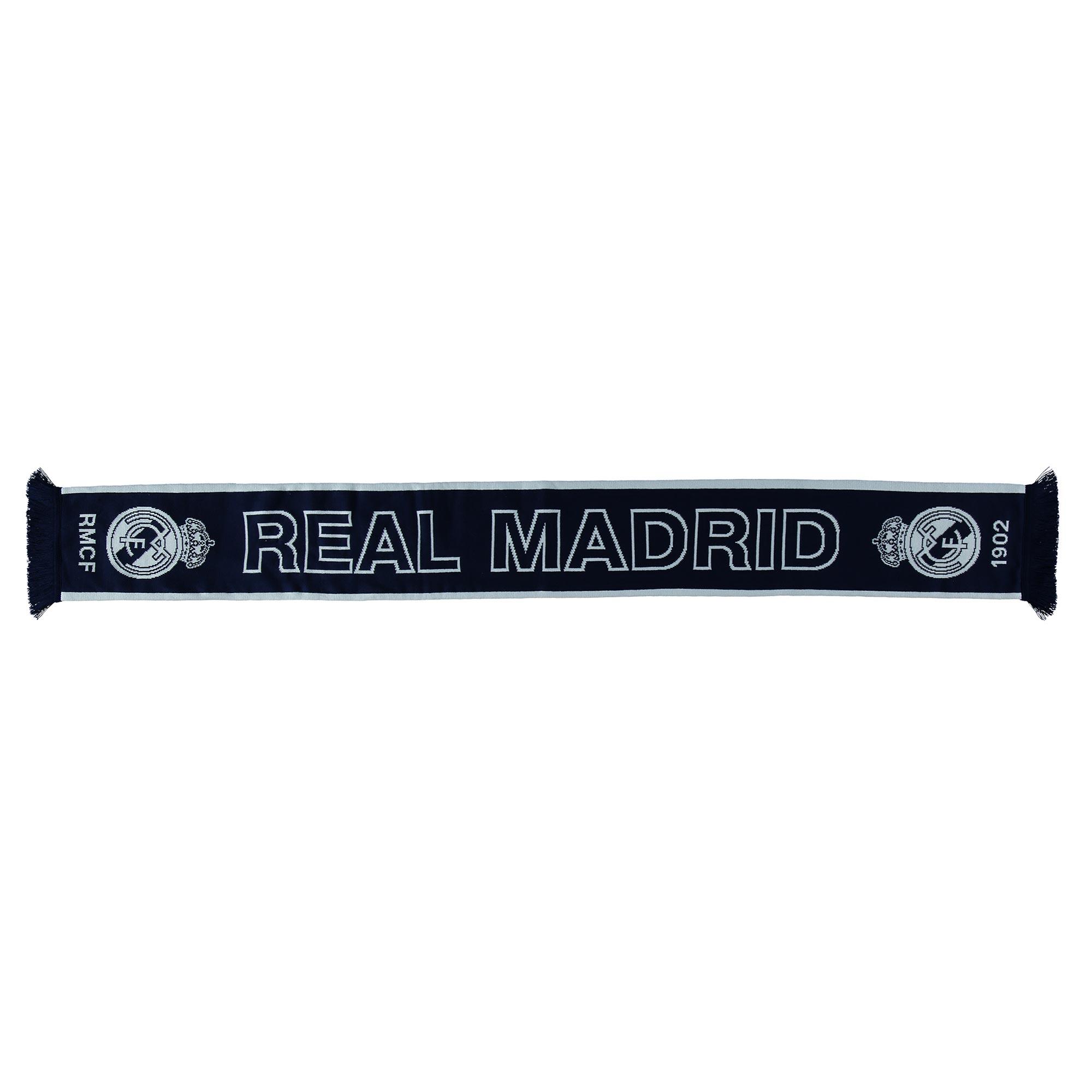 Écharpe de fan Since1902 Real Madrid- Bleu marine- Adulte