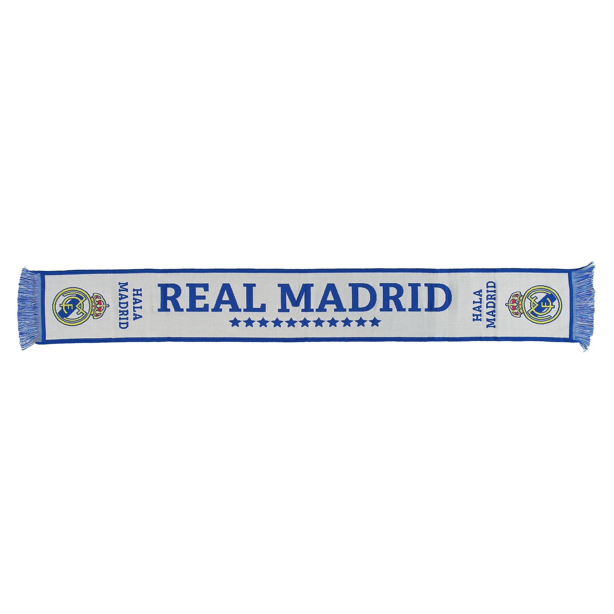 Écharpe de fan Legends Real Madrid- Blanc- Adulte