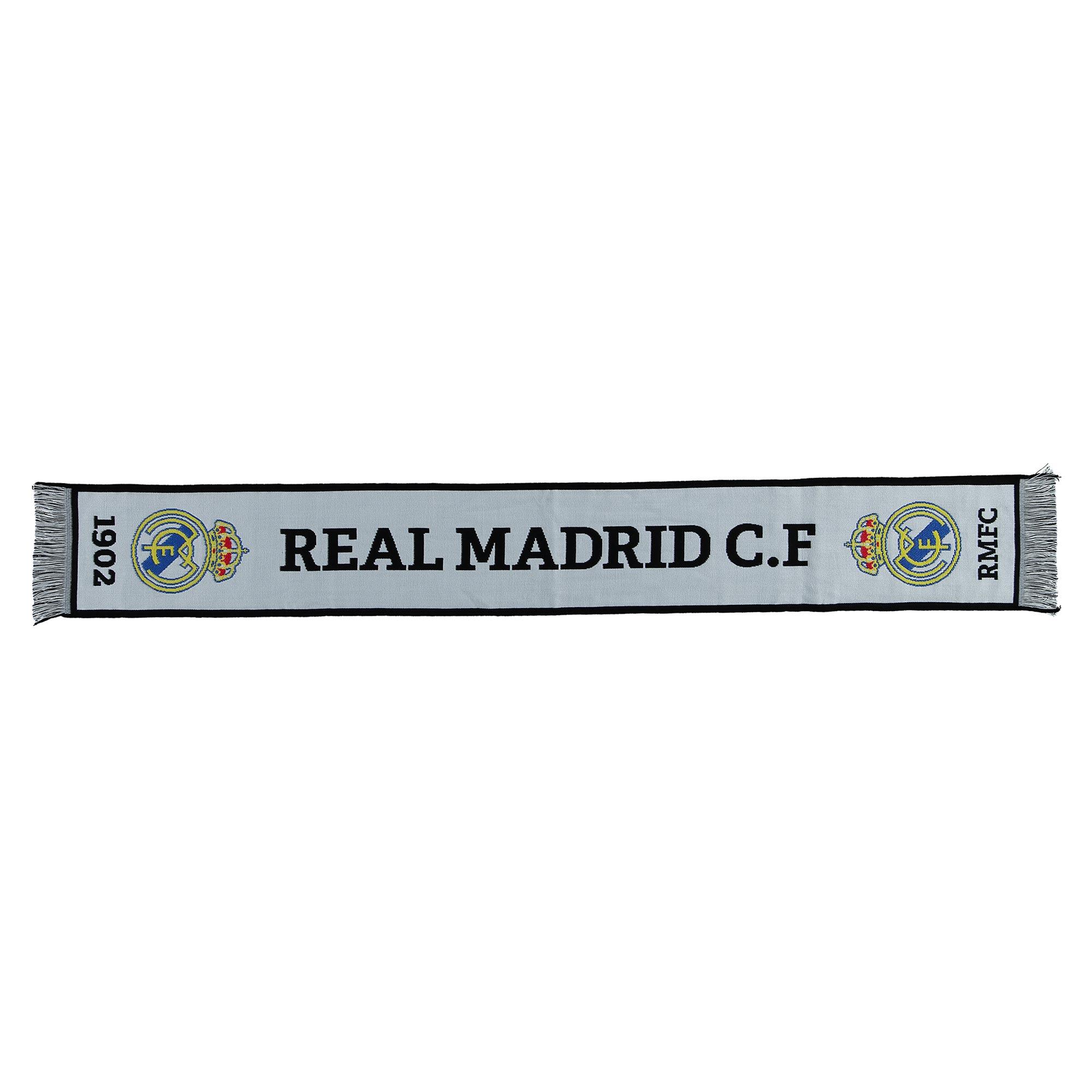Écharpe de fan Since1902 Real Madrid- Blanc- Adulte