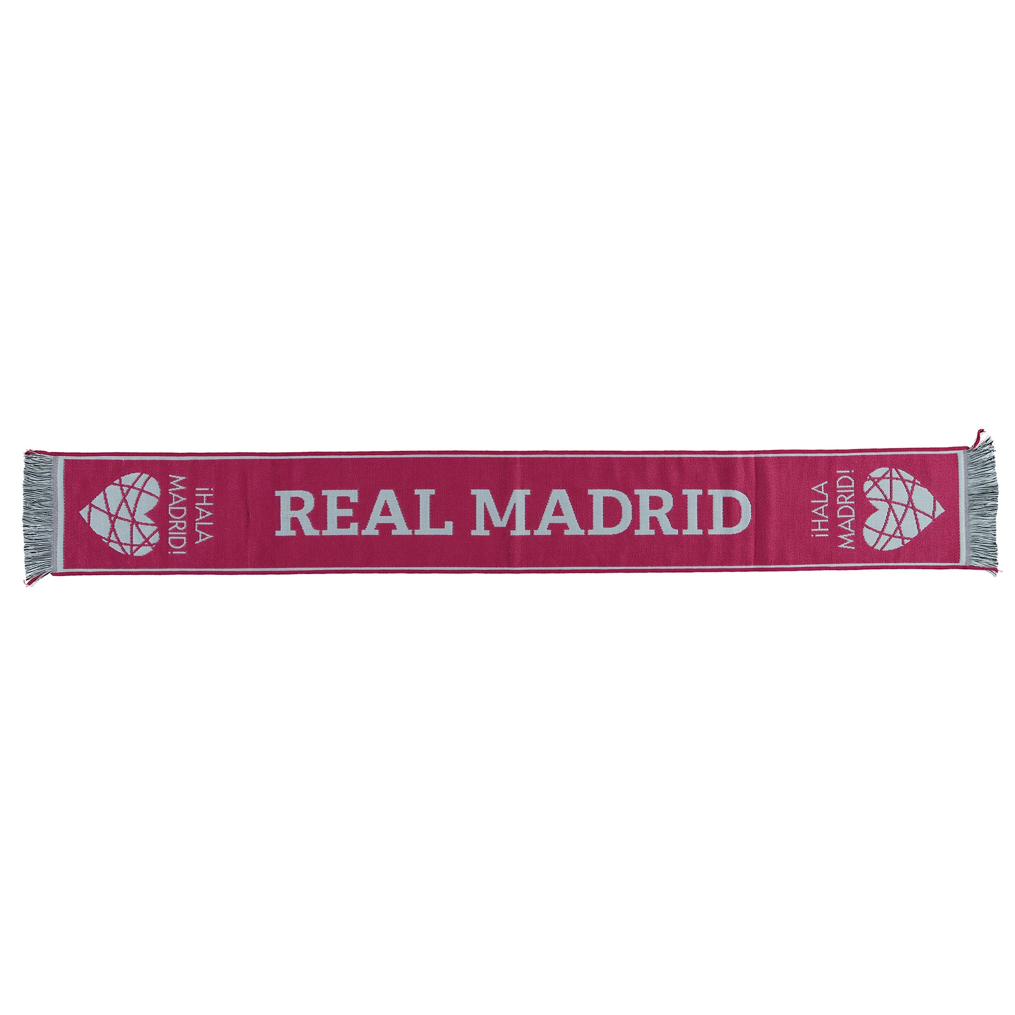 Écharpe de fan Heart Real Madrid - Rose - Adulte