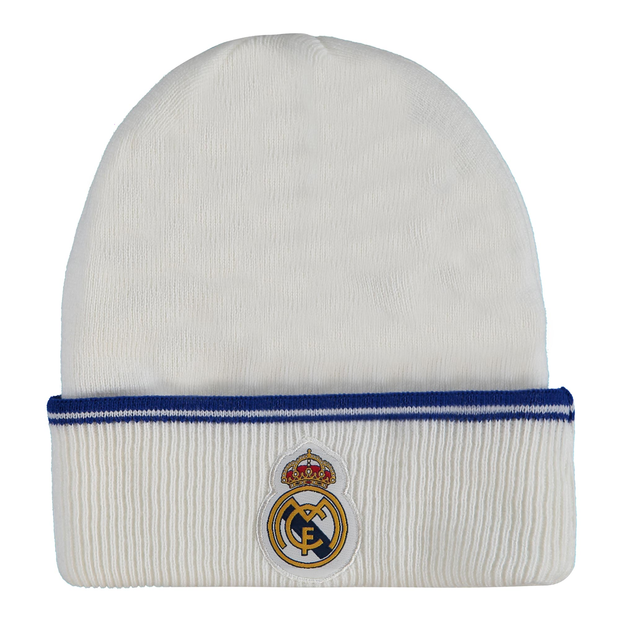Bonnet de fan Real Madrid - Blanc - Adulte