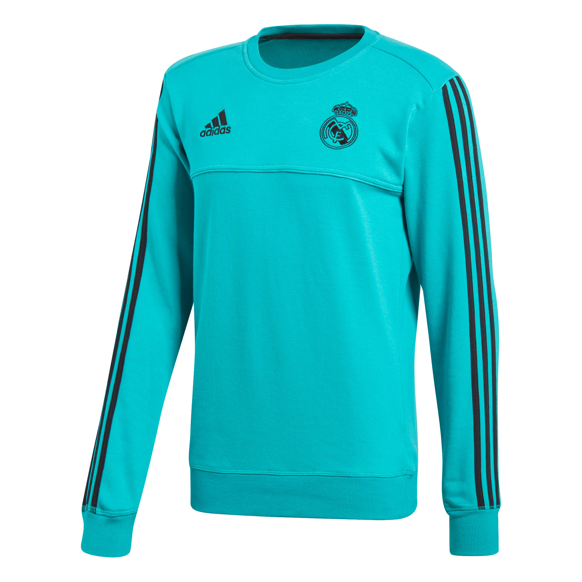 Haut de survêtement d'entraînement Real Madrid - Turquoise