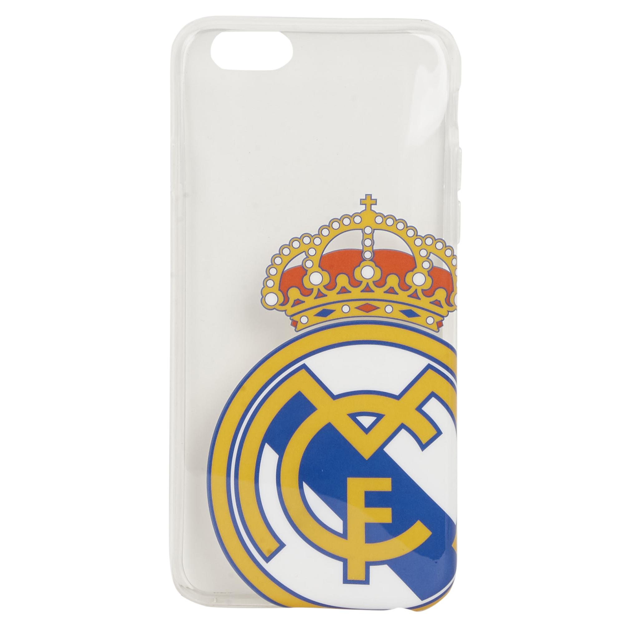 Coque en TPU pour iPhone6 Real Madrid - Transparente