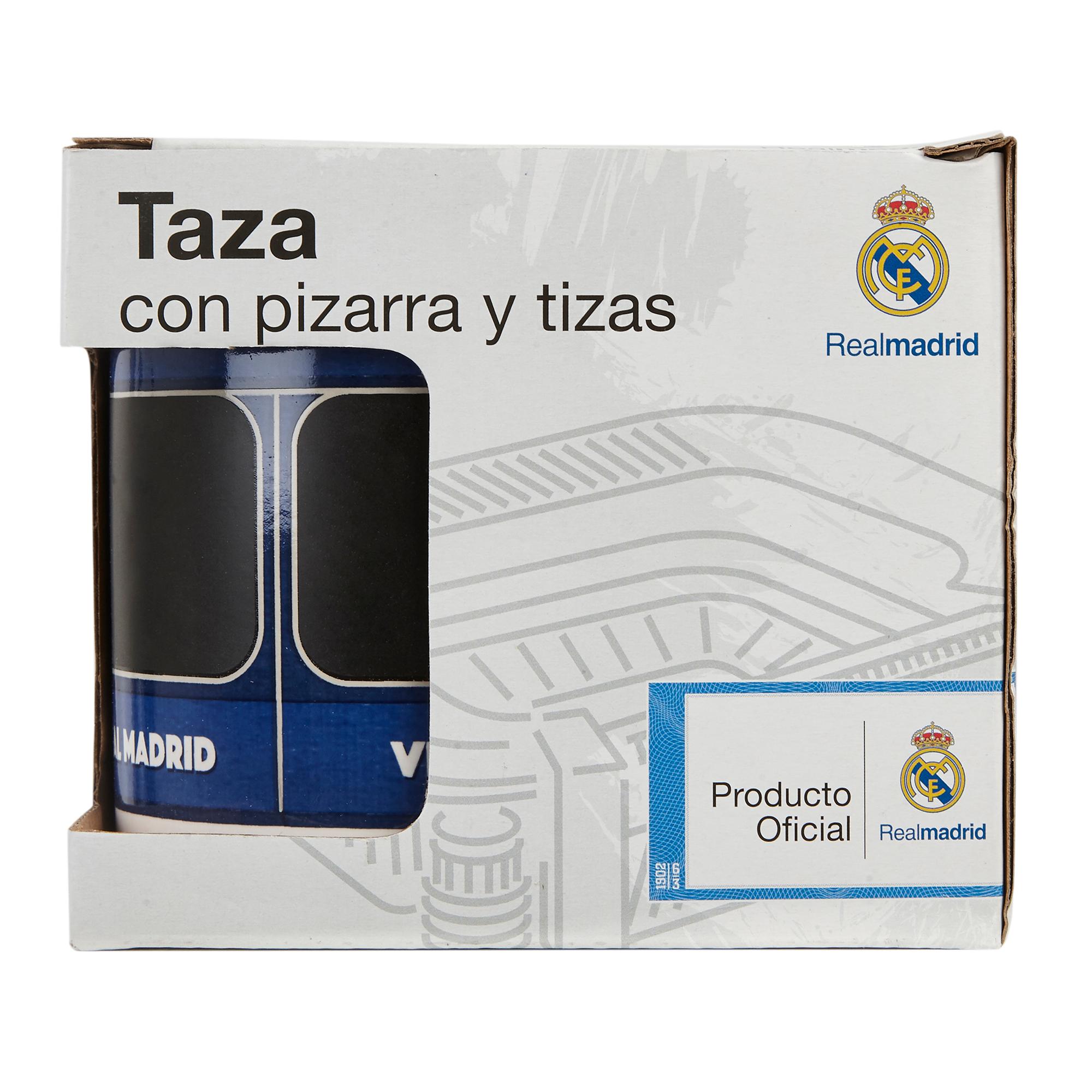 CyP Imports / Taza con pizarra y tizas del Real Madrid