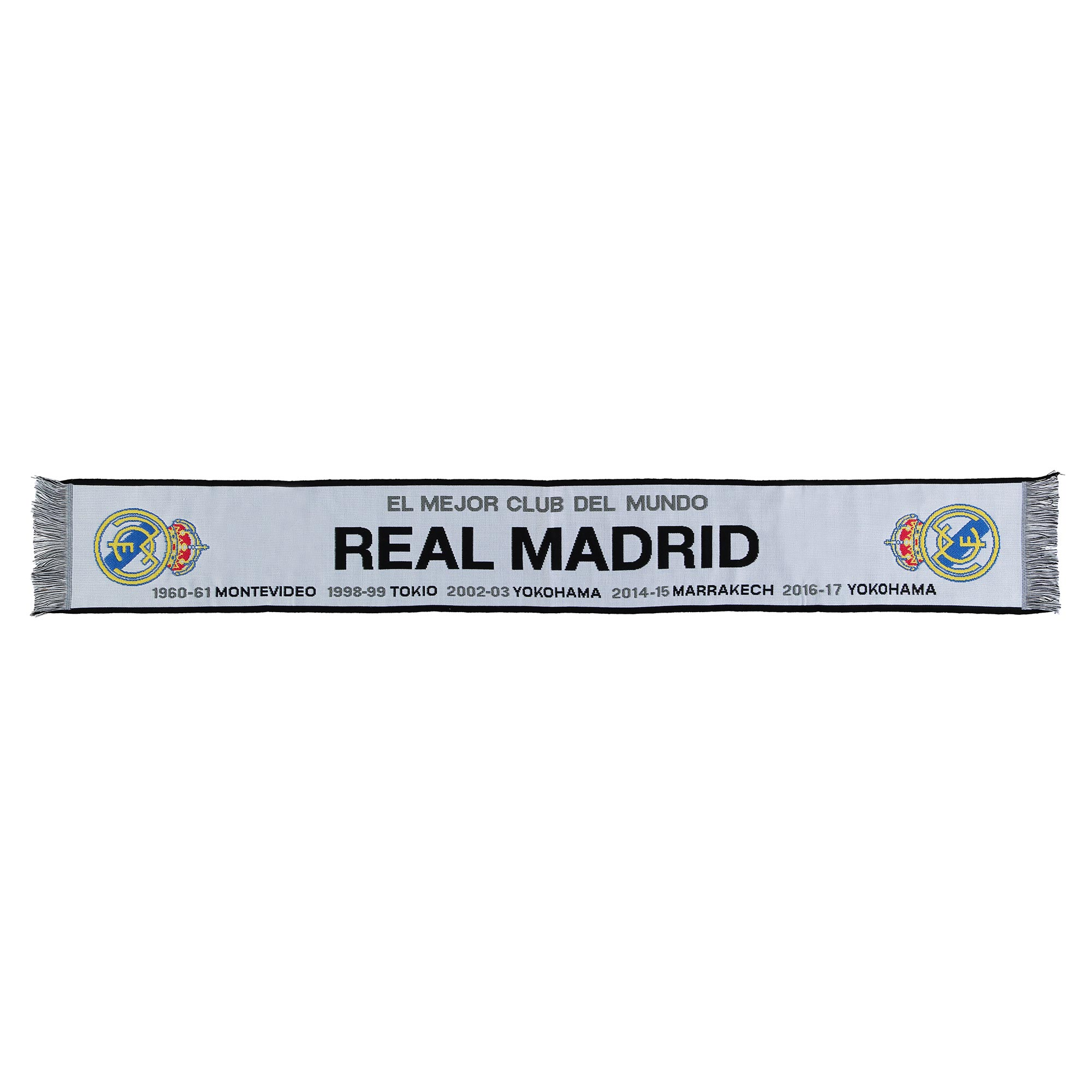 Écharpe de la finale de la Coupe du Monde des Clubs de la FIFA Real Madrid - Blanc - Adulte