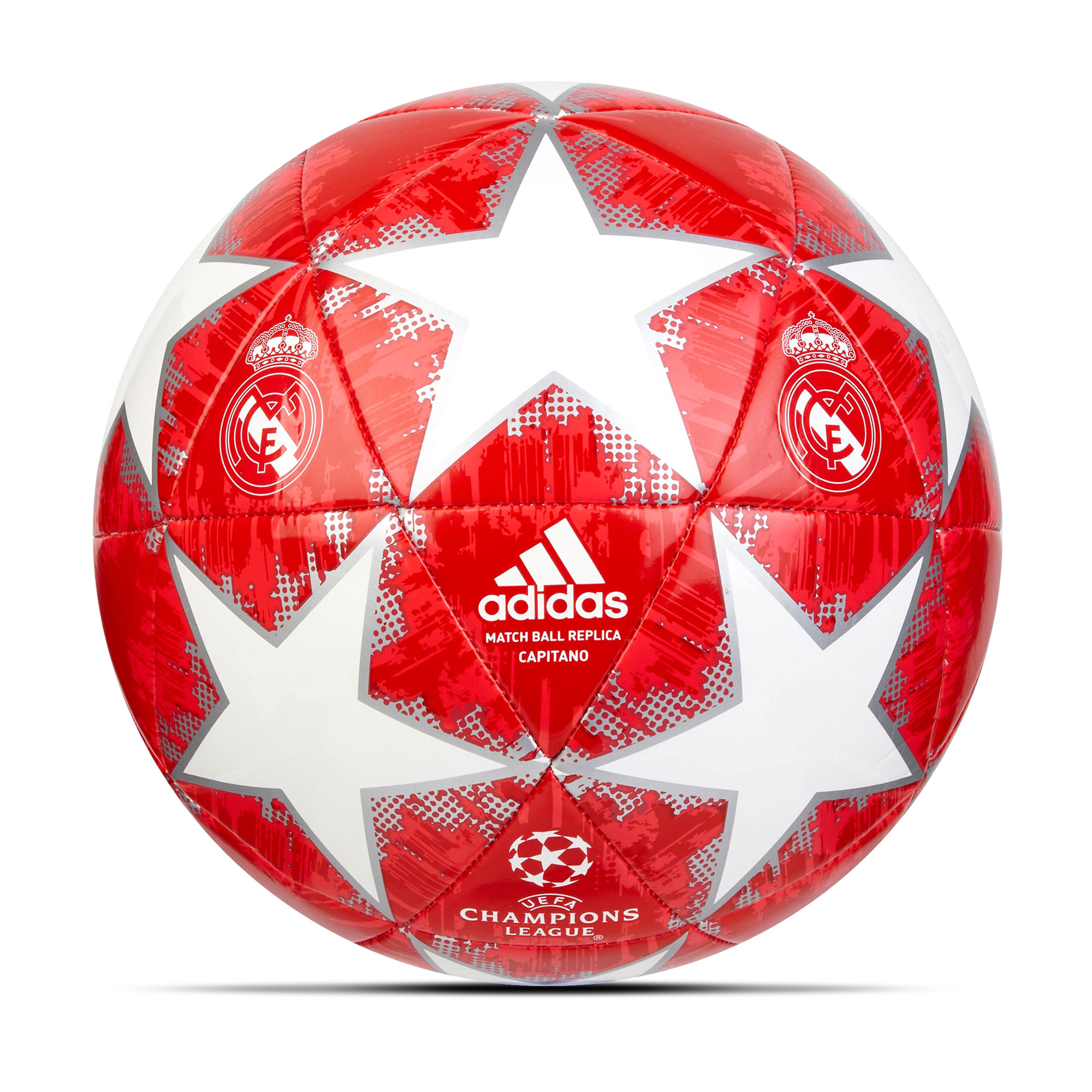 Ballon de football finale 2018 Capitano Real Madrid - Blanc -Taille5