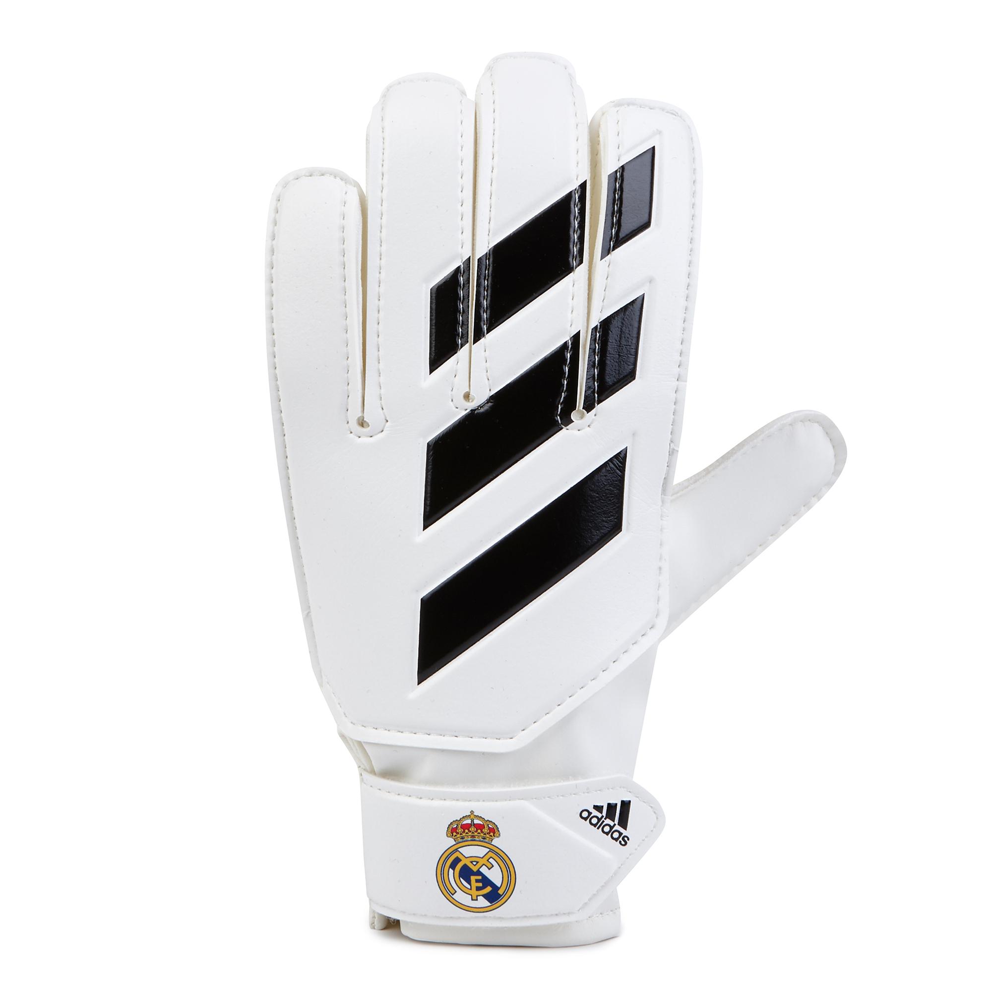 Gants de gardien de but Young Pro Real Madrid- Blanc