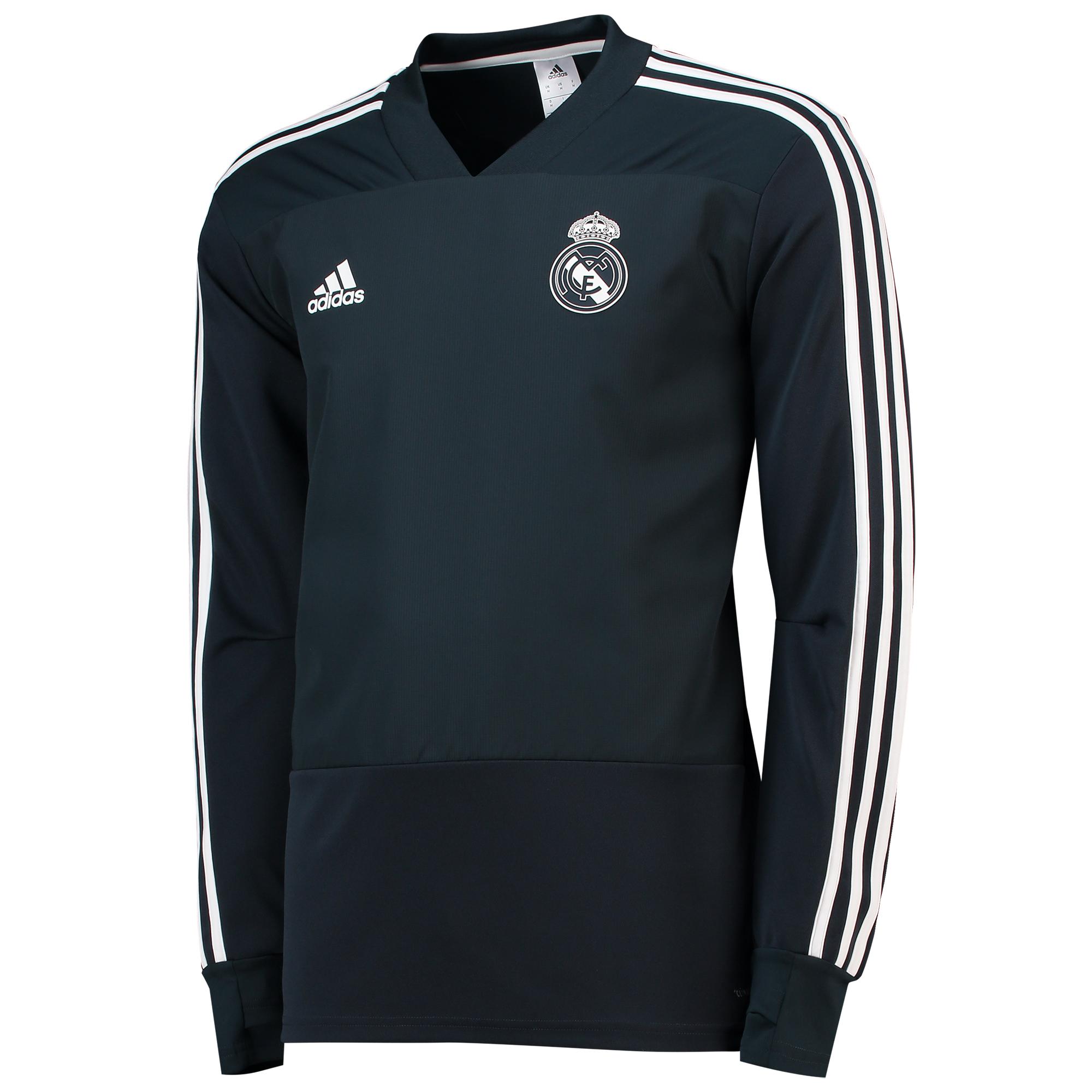 Sudadera de entrenamiento del Real Madrid en gris oscuro