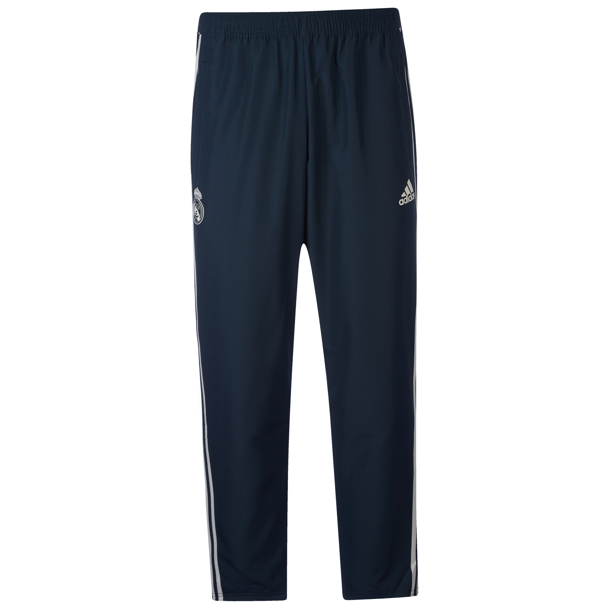 Pantalón de punto de entrenamiento del Real Madrid en gris oscuro