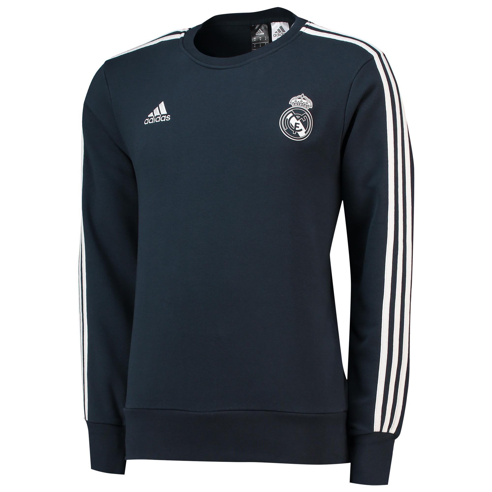 Sudadera de chándal de entrenamiento del Real Madrid en gris oscuro