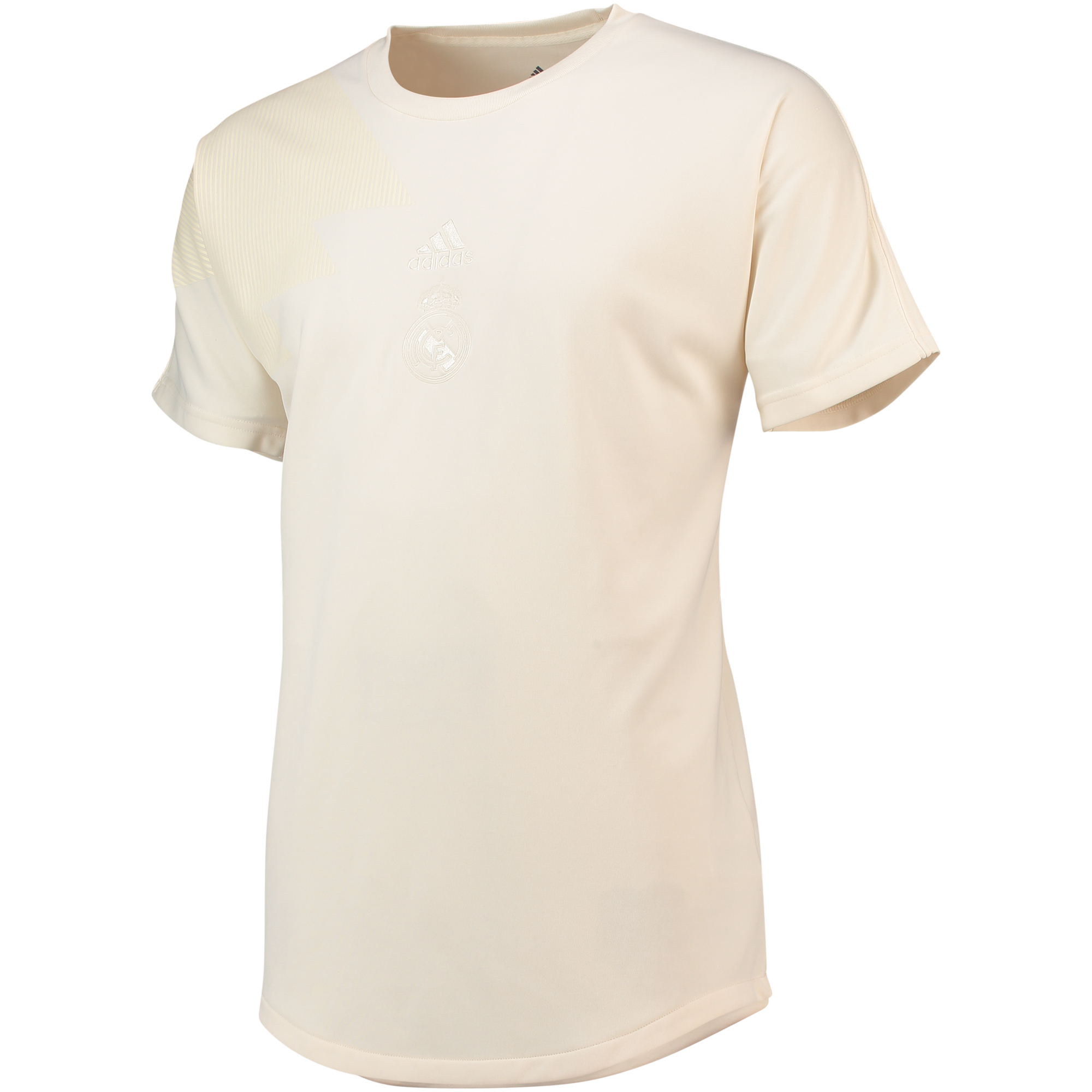 Camiseta del Real Madrid en blanco