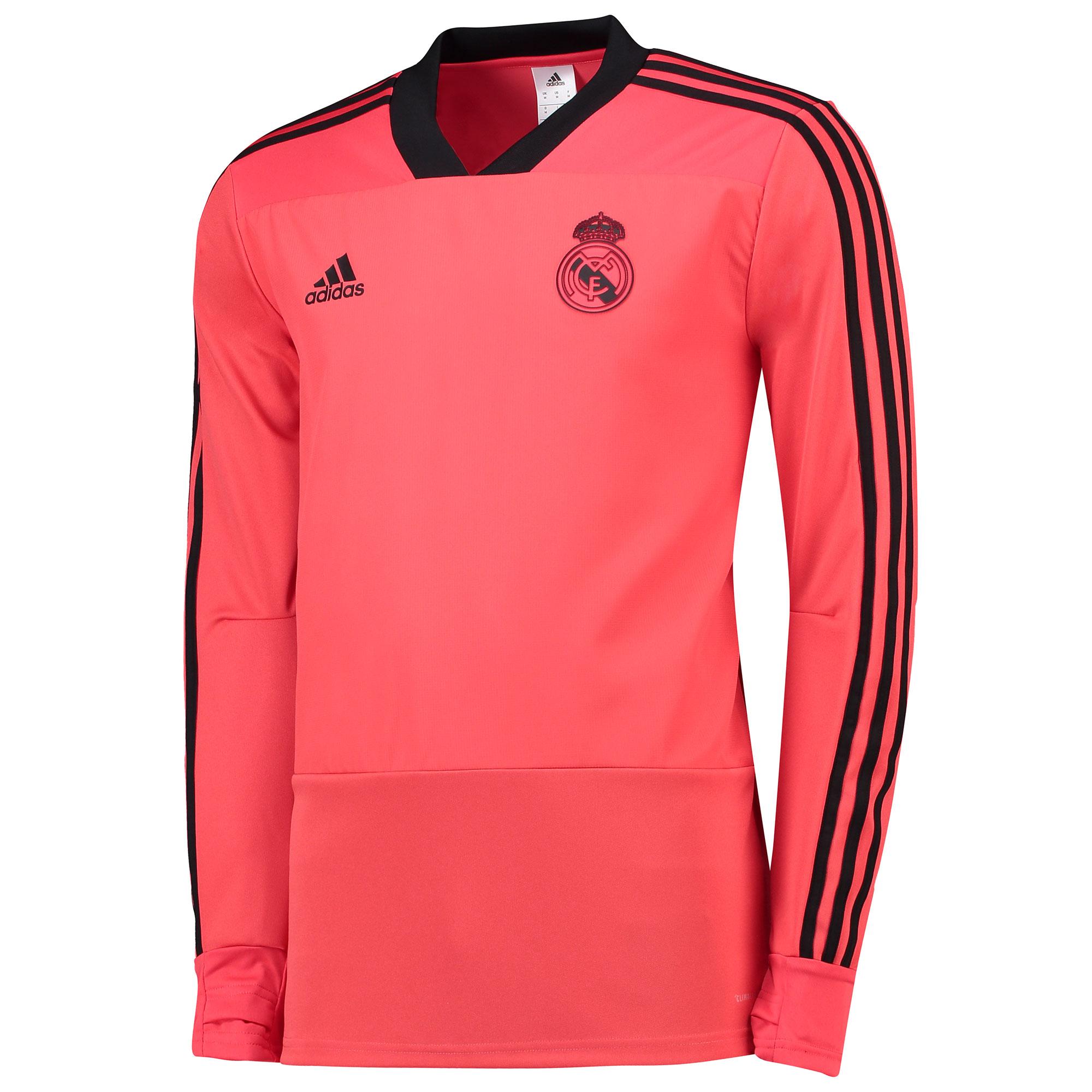 Sudadera de entrenamiento UCL del Real Madrid en rojo