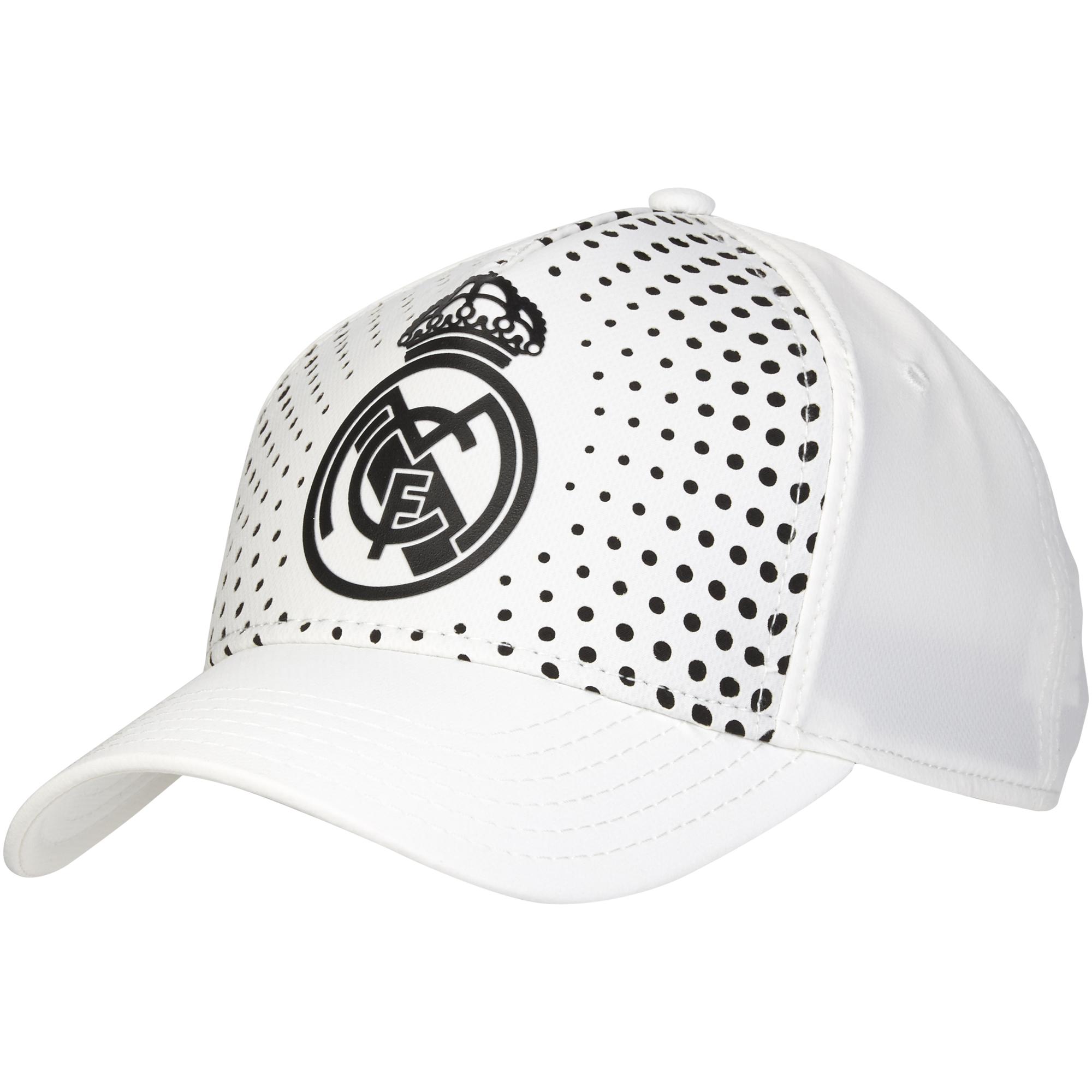 Casquette aspect délavé Real Madrid - Blanc - Homme