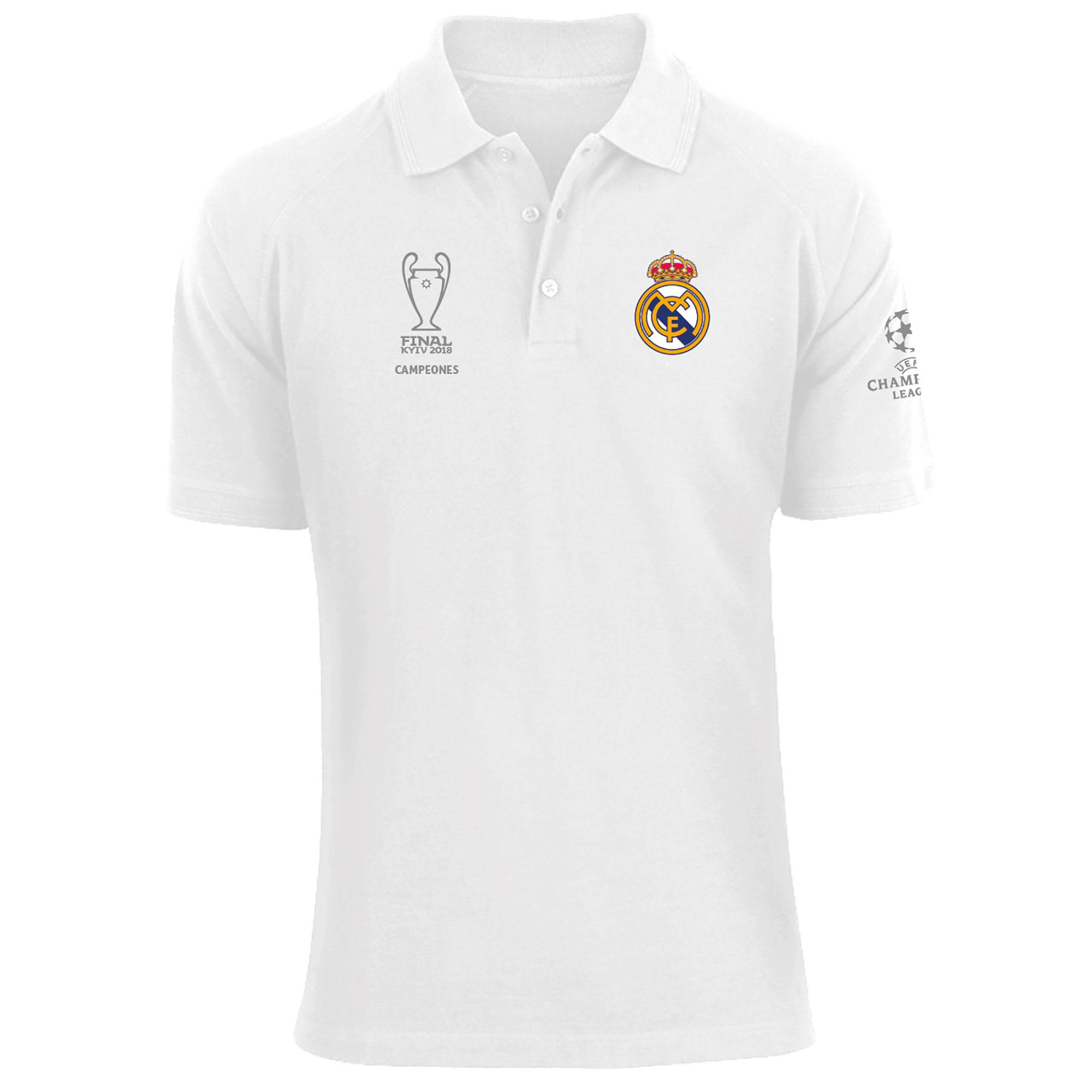 Polo Ligue des Champions UEFA - Blanc - Homme
