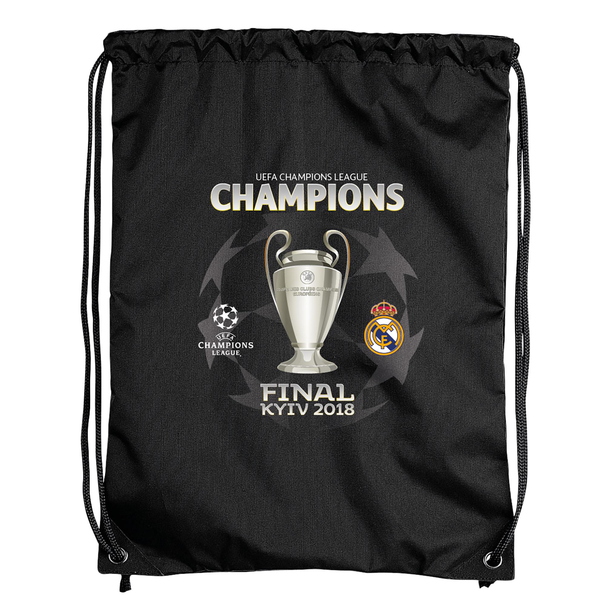 Sac de sport Winners Real Madrid UEFA Champions League 2018