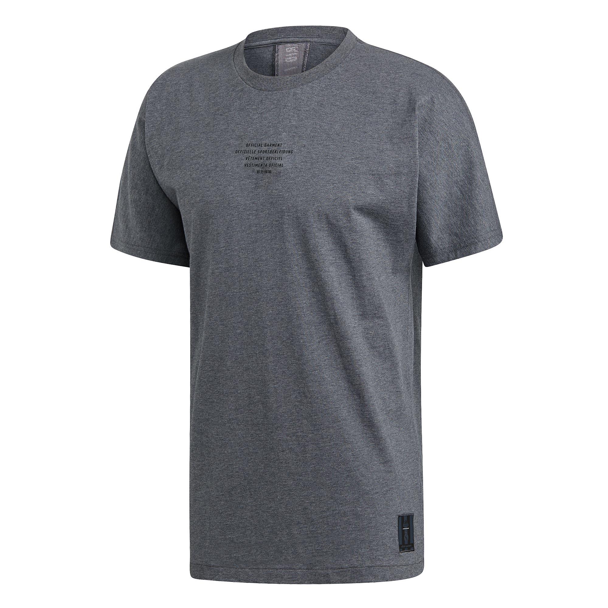 Camiseta SSP del Real Madrid en gris