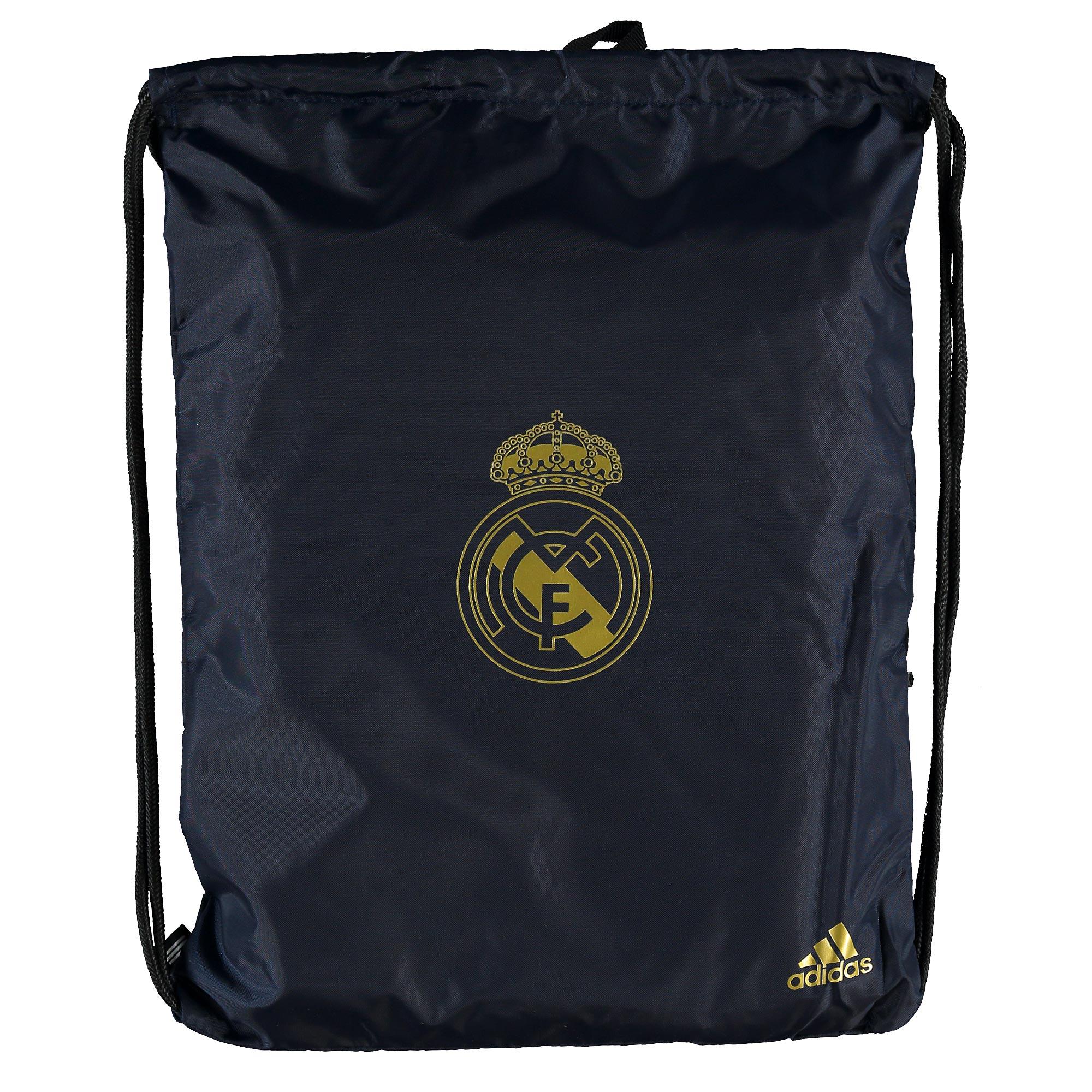 Adidas / Bolsa para el gimnasio del Real Madrid azul marino