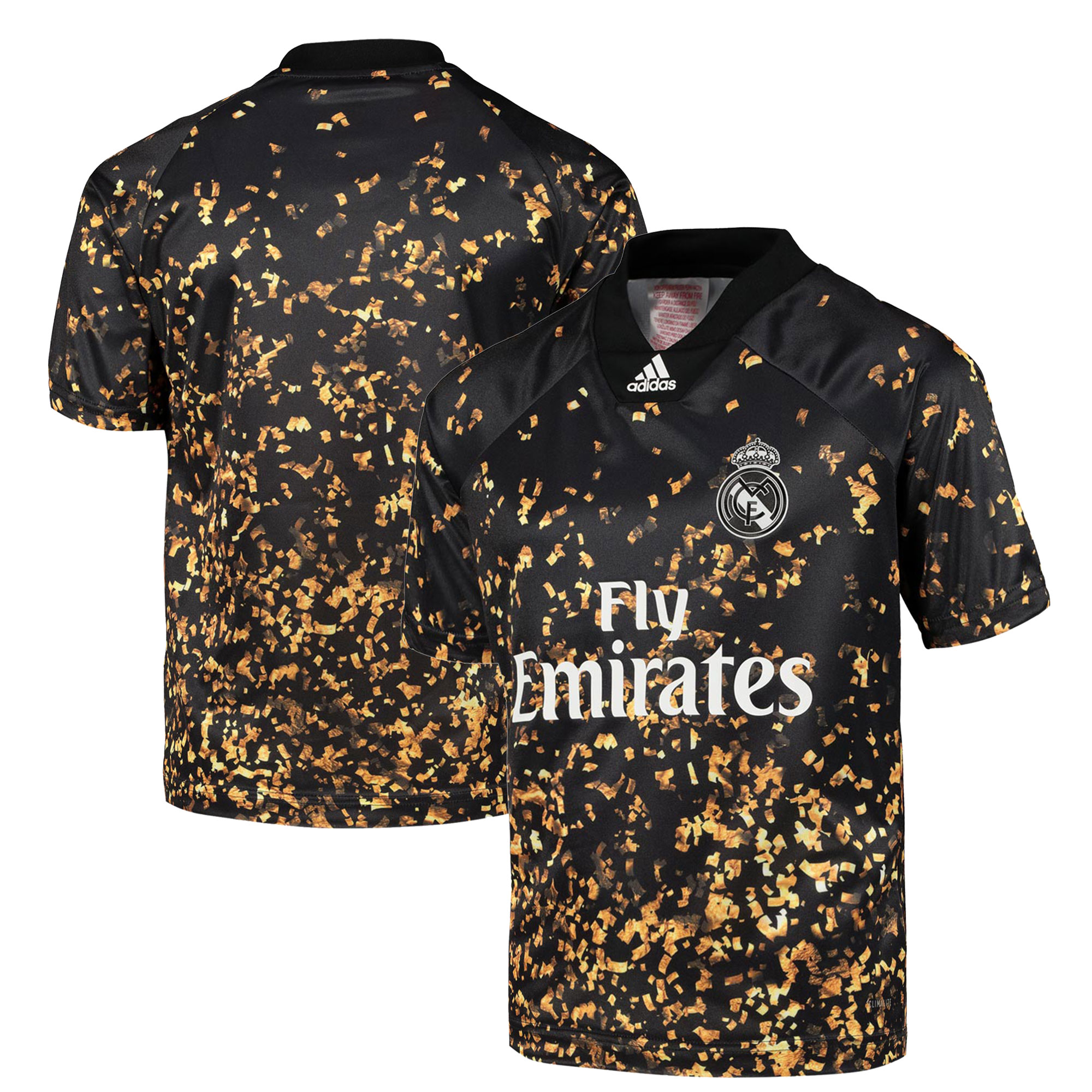 Camiseta adidas EA Sports del Real Madrid - Negro - Niños