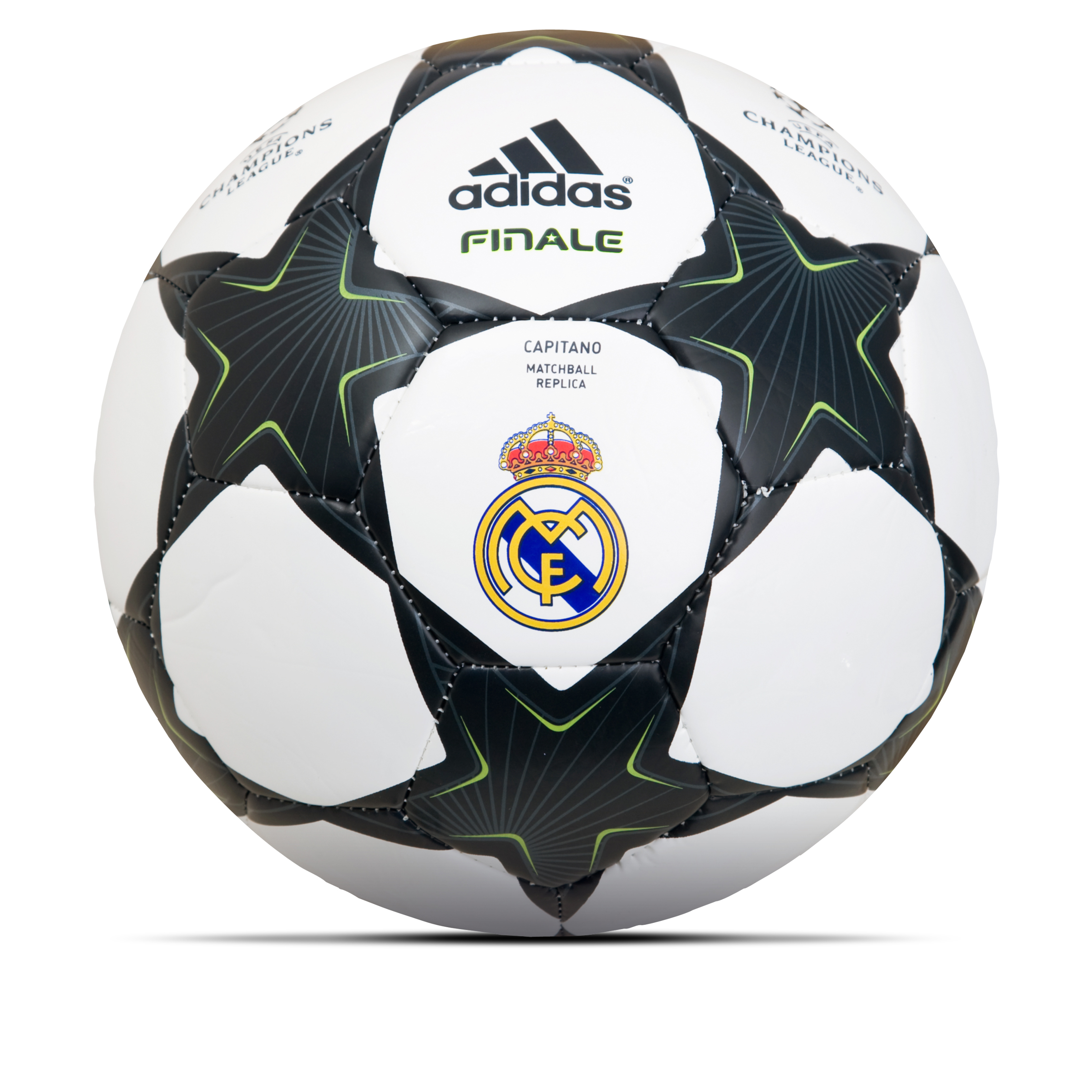 adidas Finale 10 Capitano Real Madrid Football - White