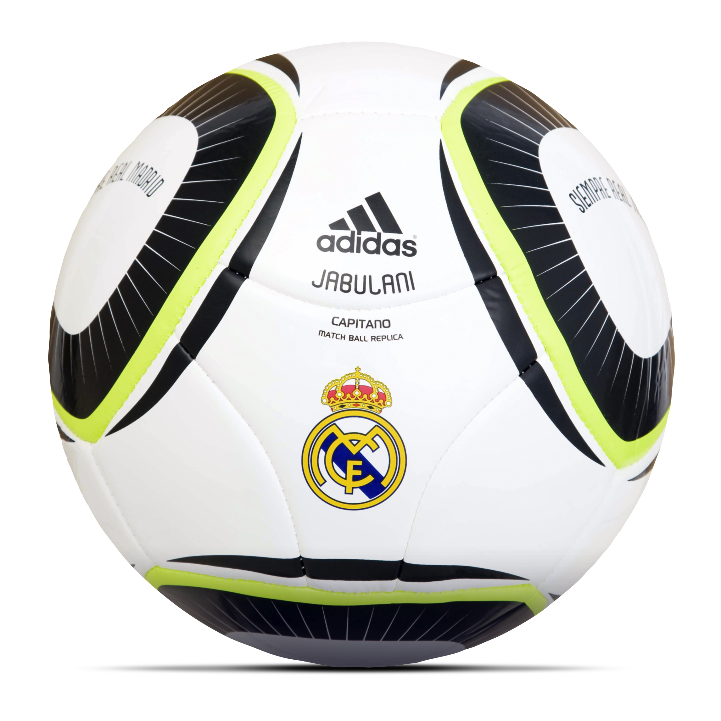 adidas 2010 Capitano Real Madrid Football - White/Legend Blue/Legend Blue