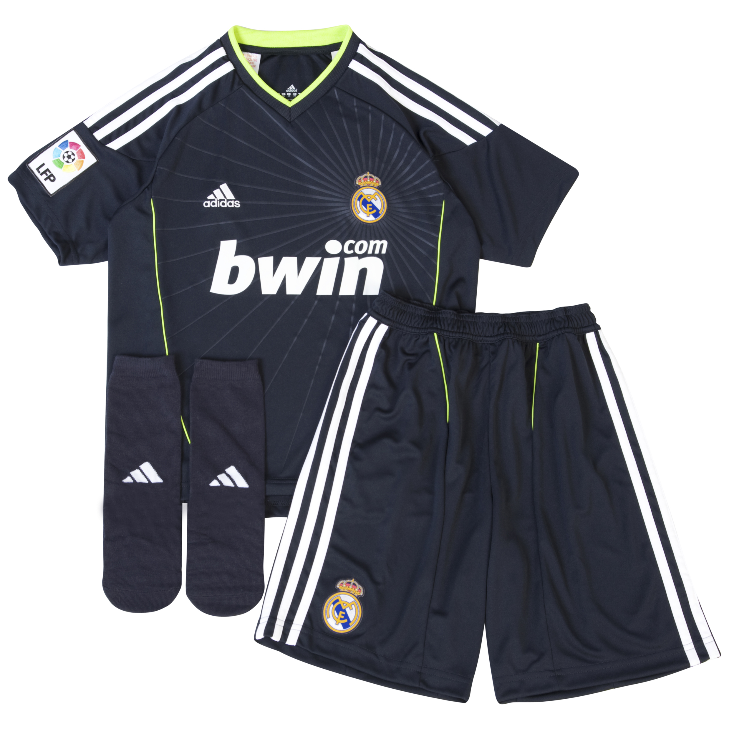 Real Madrid Away Minikit Pack 2010/11