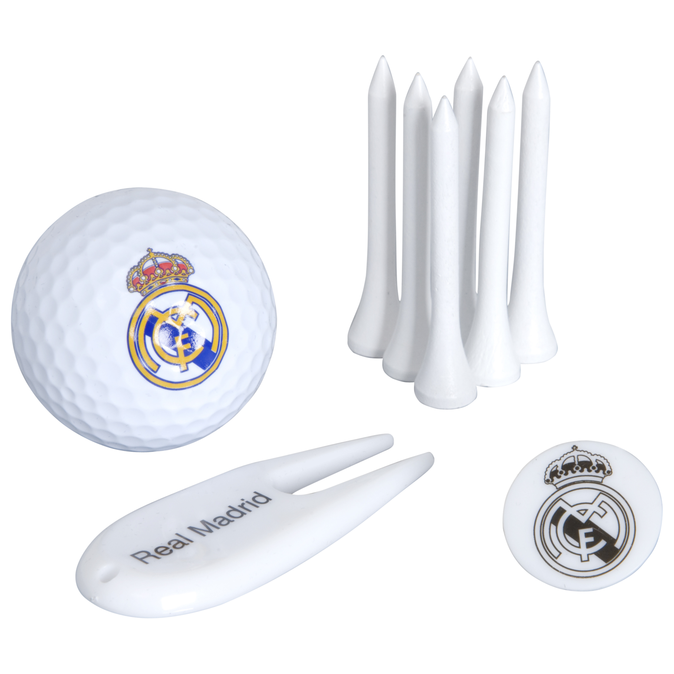 Real Madrid Golf Tube Gift Set