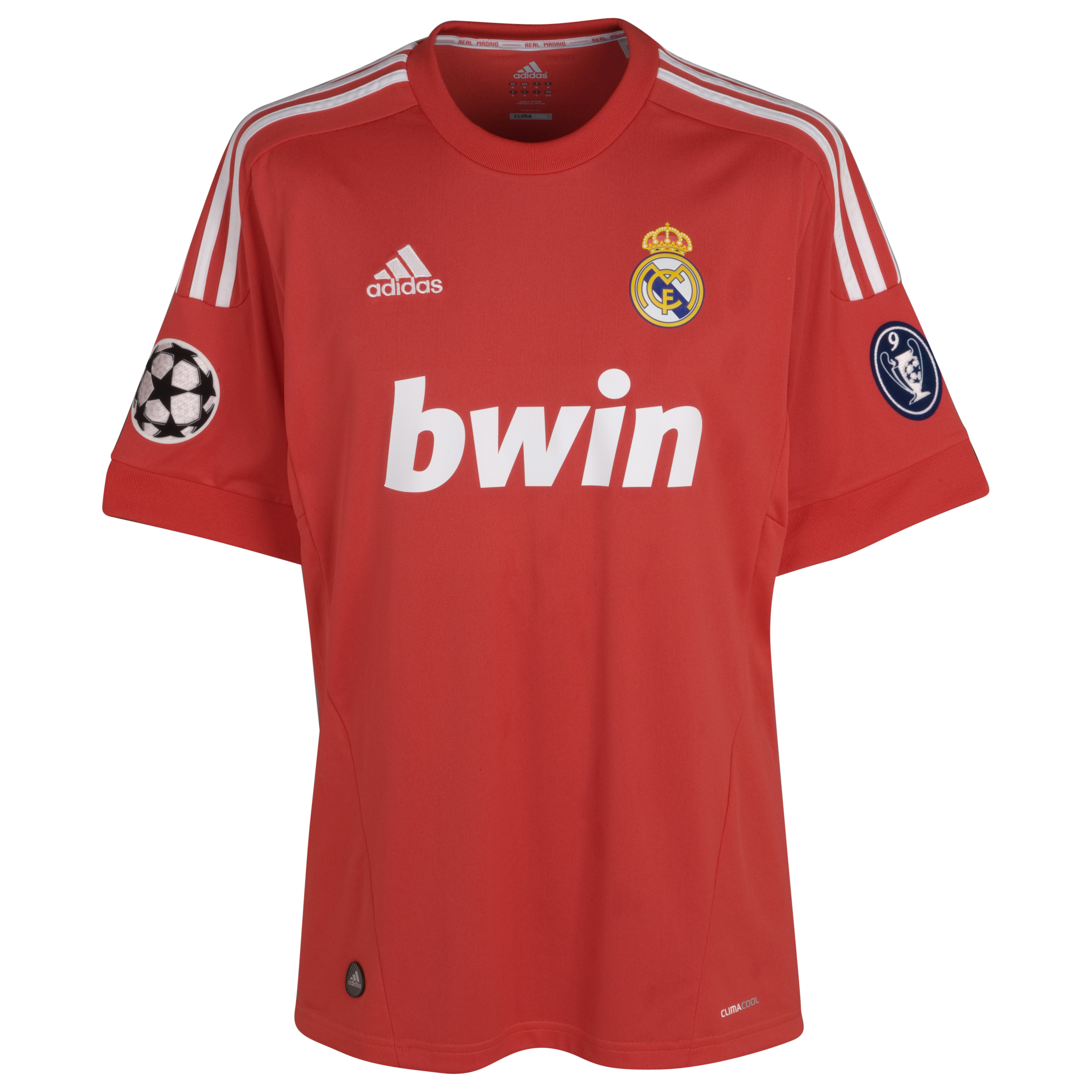 Real Madrid UEFA Champions League Third Shirt 2011/12 - Kids