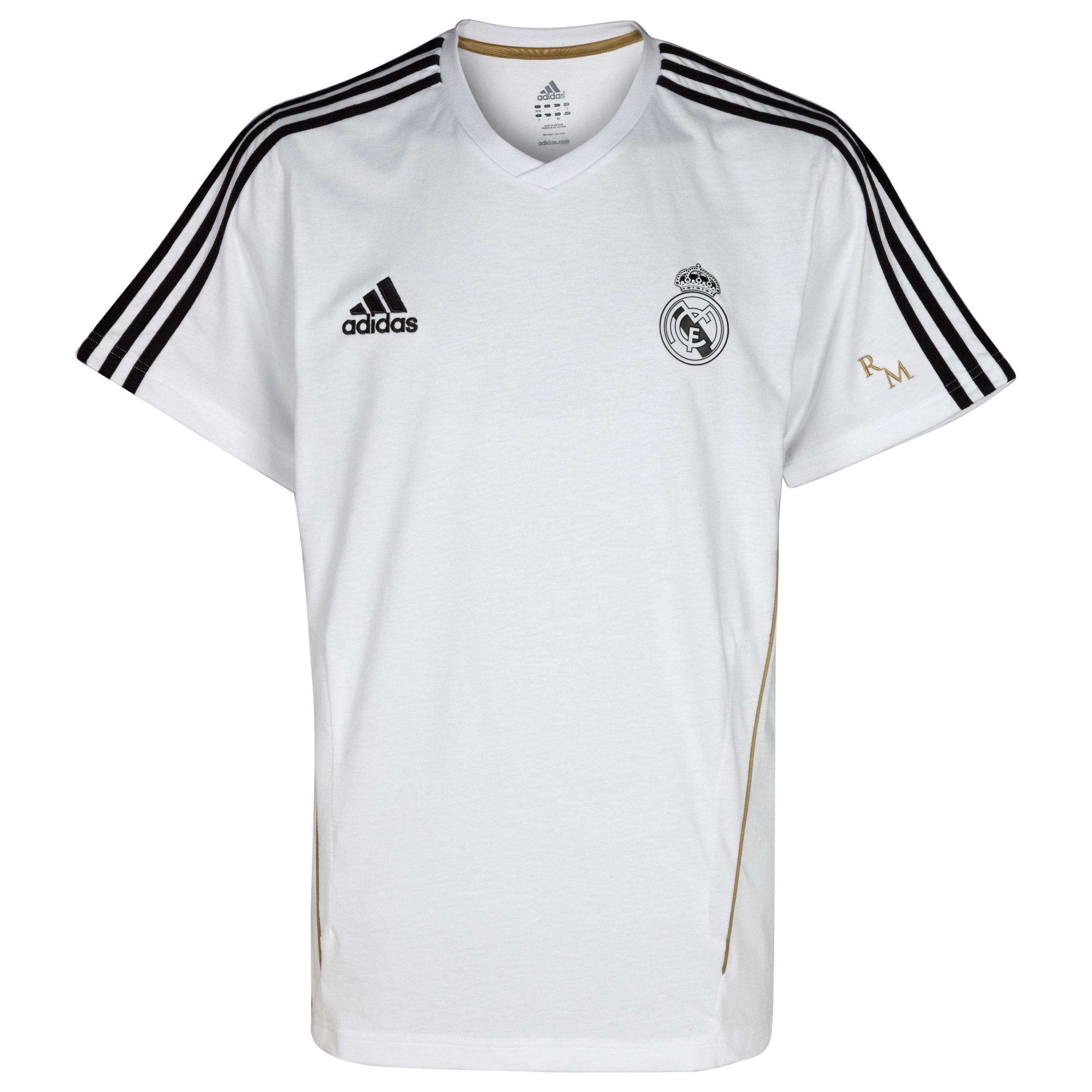 Real Madrid Training T-Shirt - White/Black