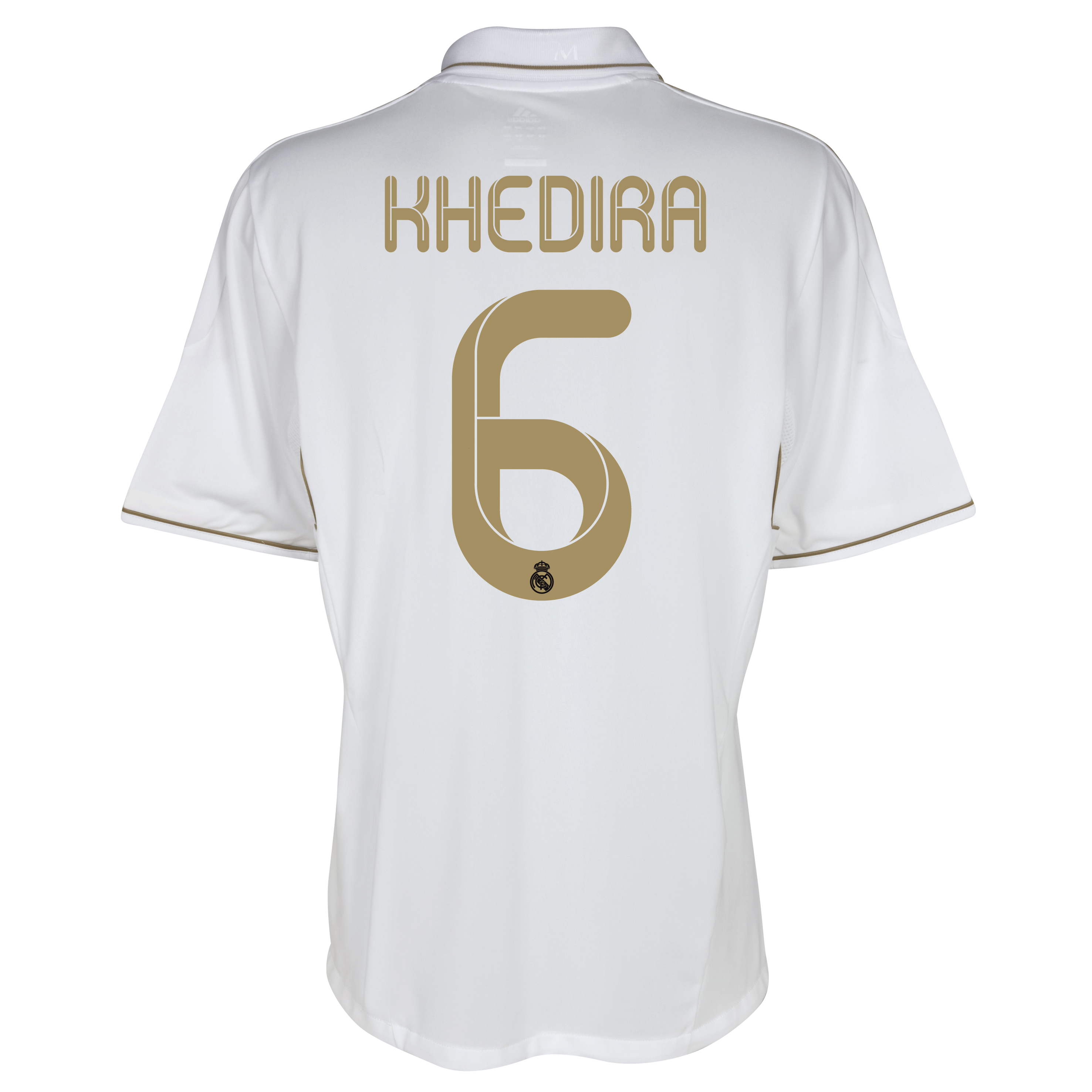 Real Madrid Home Shirt 2011/12 - Kids with Khedira 6 printing
