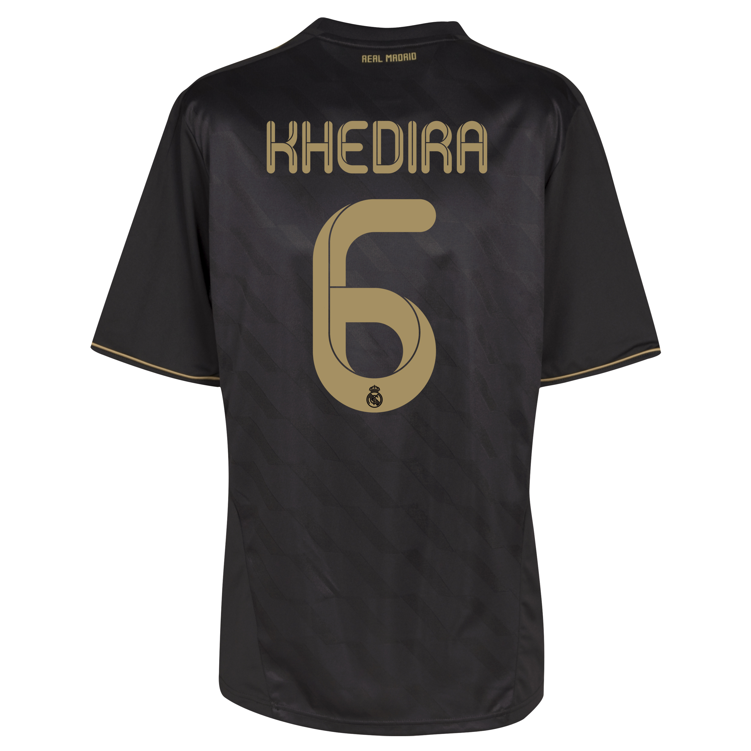 Real Madrid Away Shirt 2011/12 with Khedira 6 printing