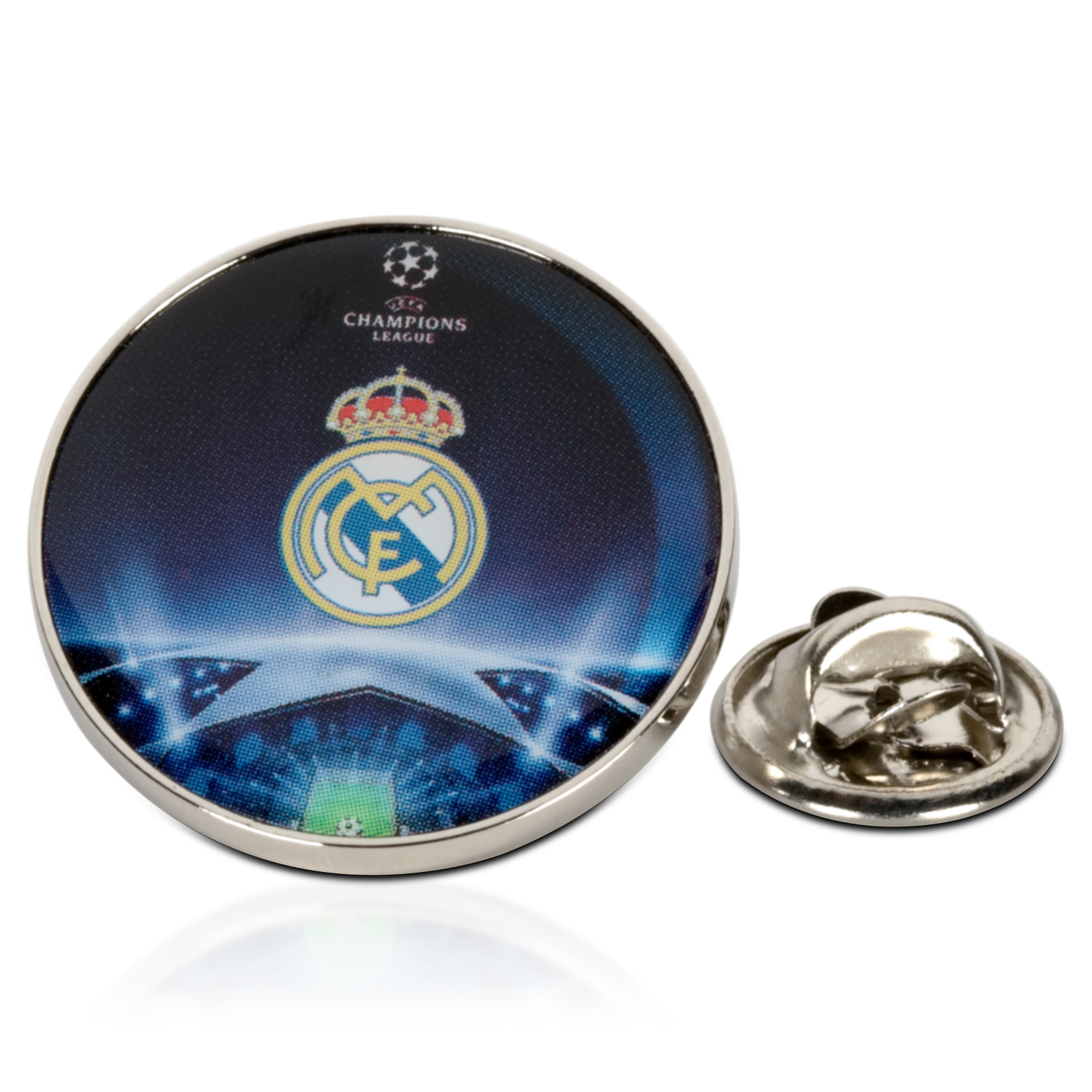 Real Madrid UEFA Champions League Pin Badge
