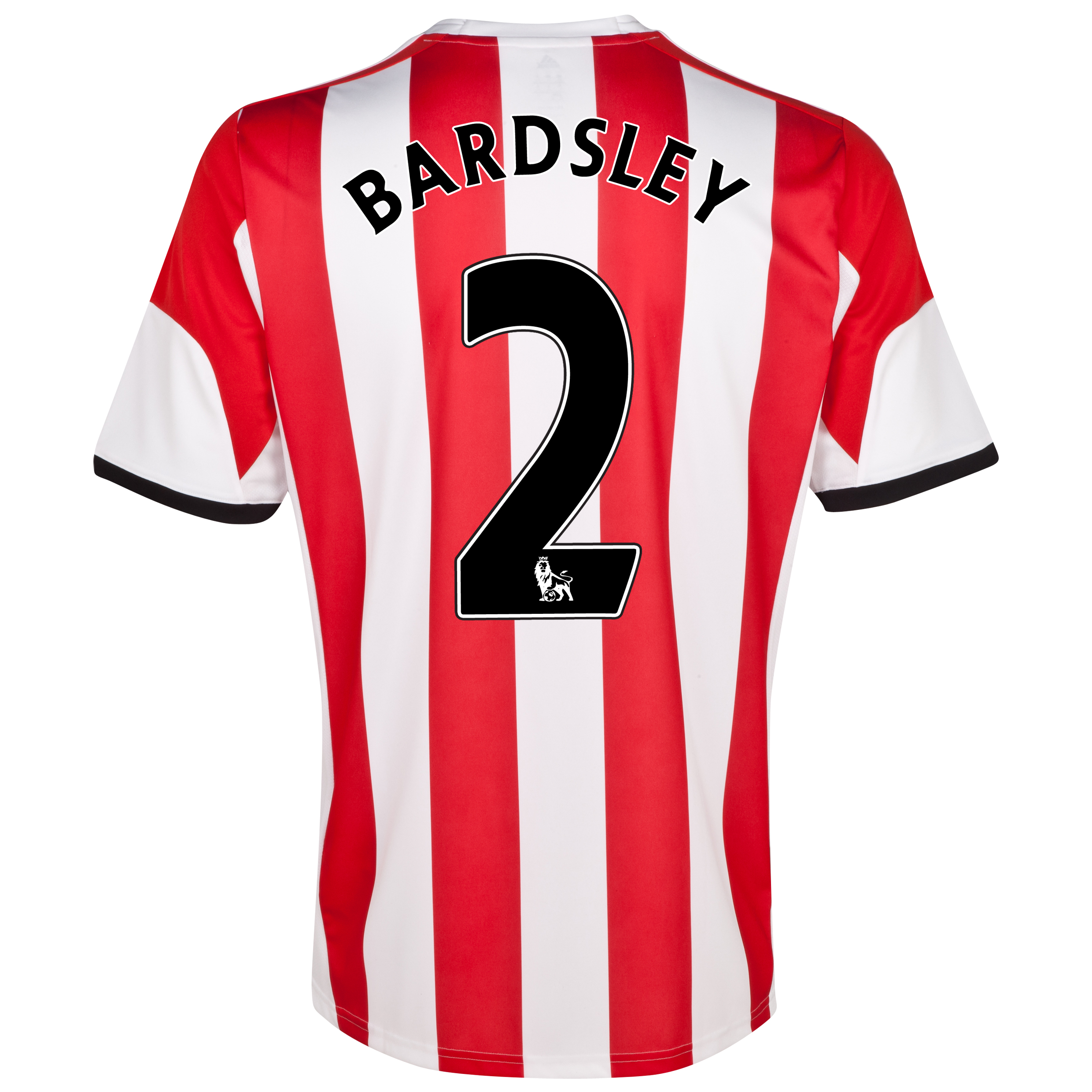 Sunderland Home Shirt 2013/14  with Bardsley 2 printing