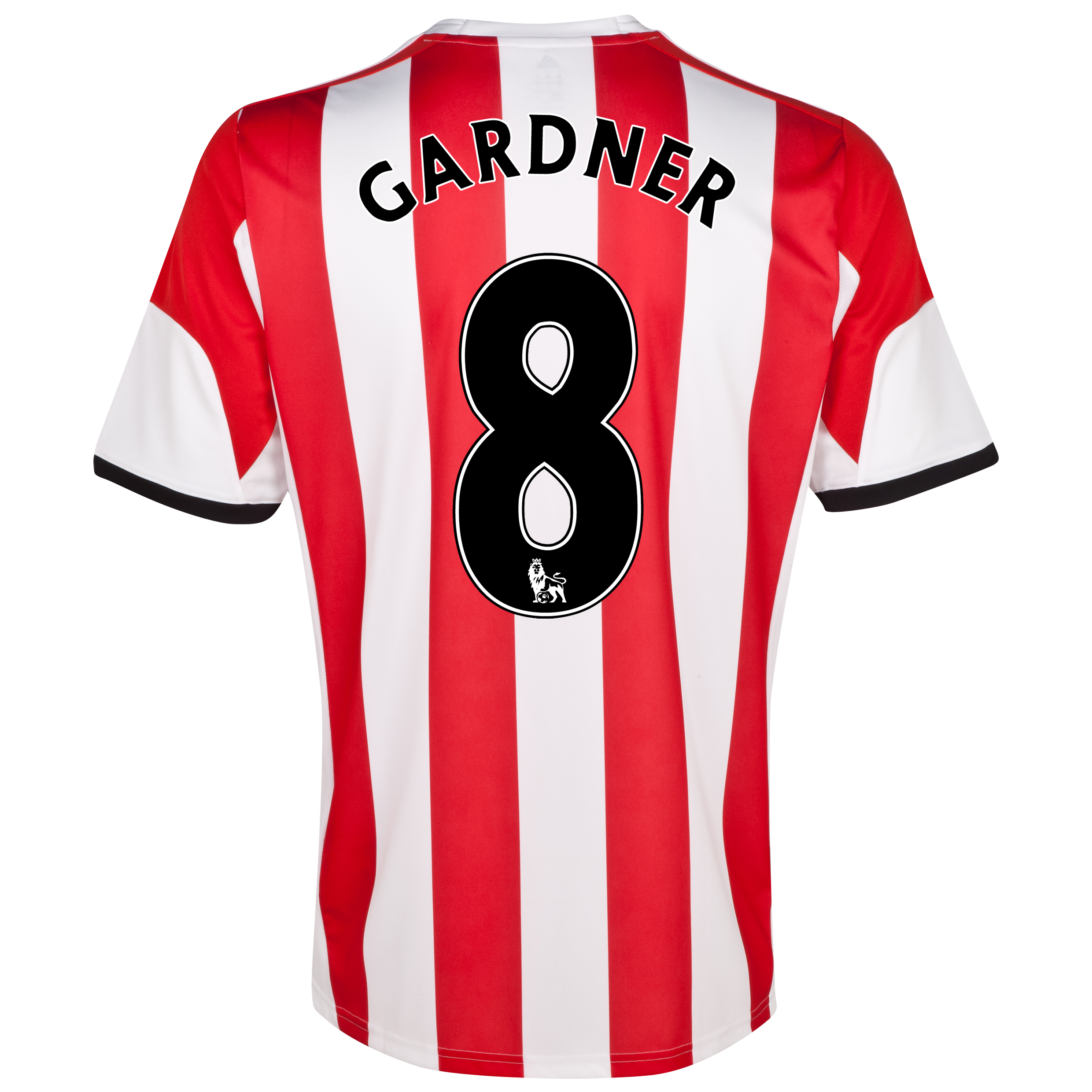 Sunderland Home Shirt 2013/14  with Gardner 8 printing
