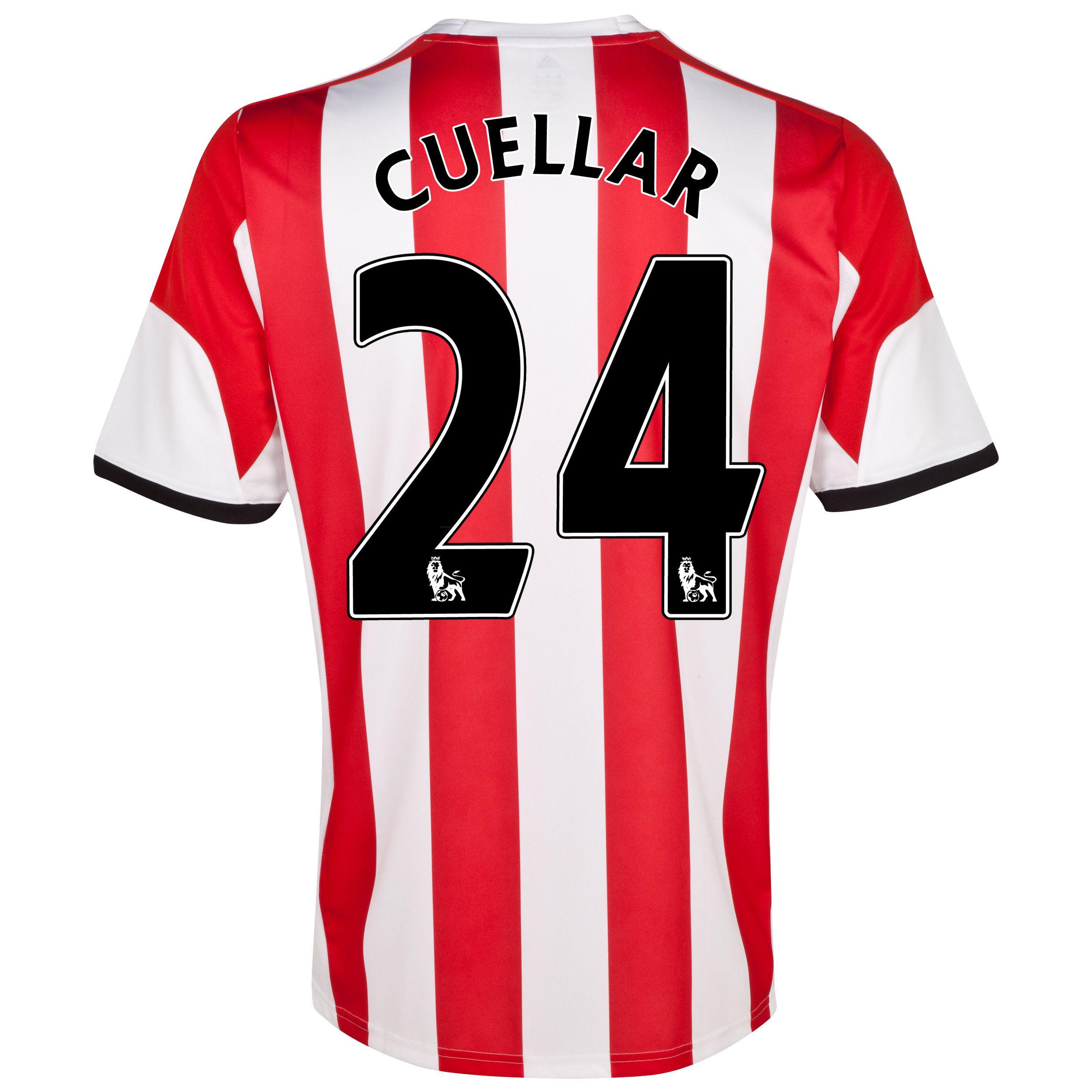 Sunderland Home Shirt 2013/14  with Cuellar 24 printing