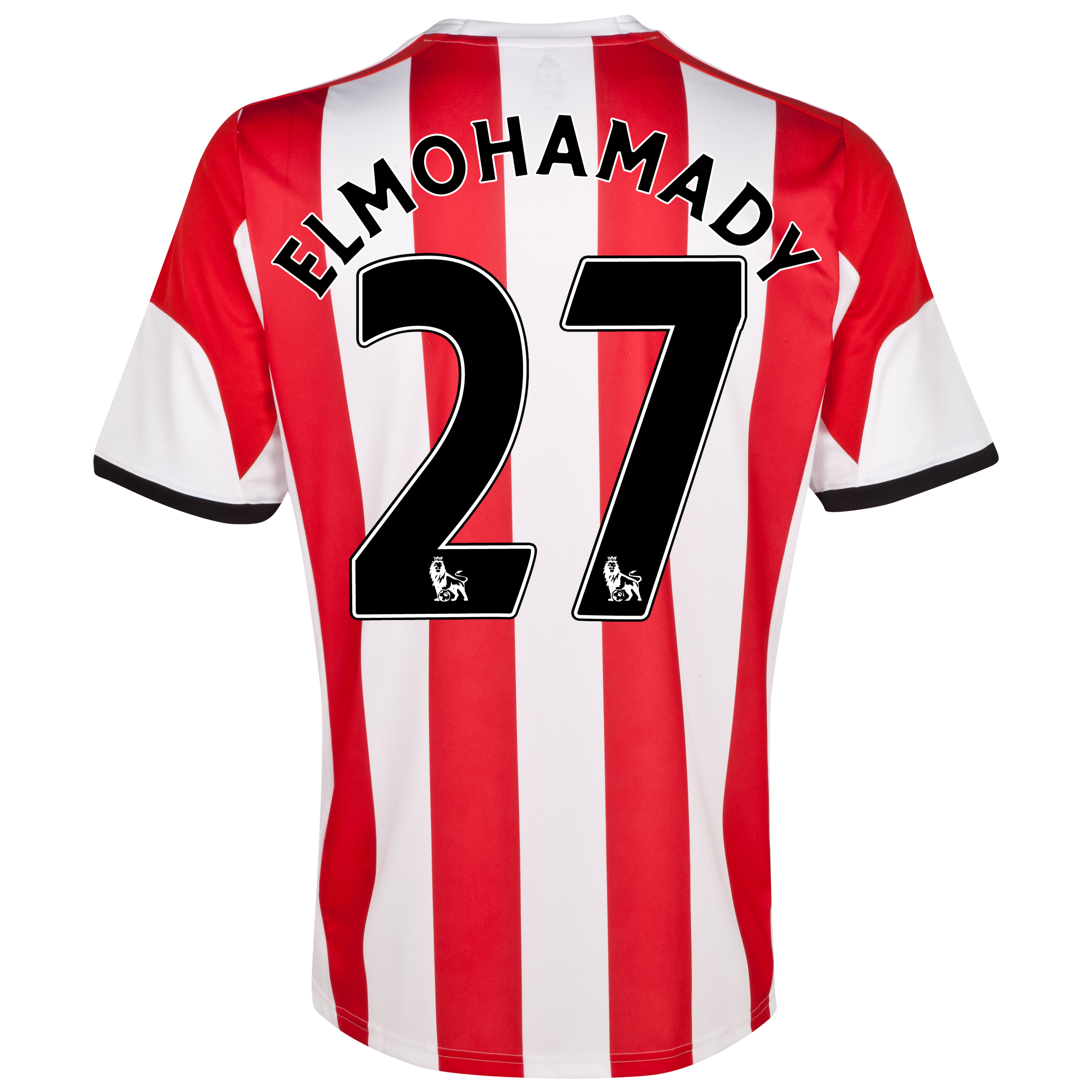 Sunderland Home Shirt 2013/14  with Elmohamady 27 printing